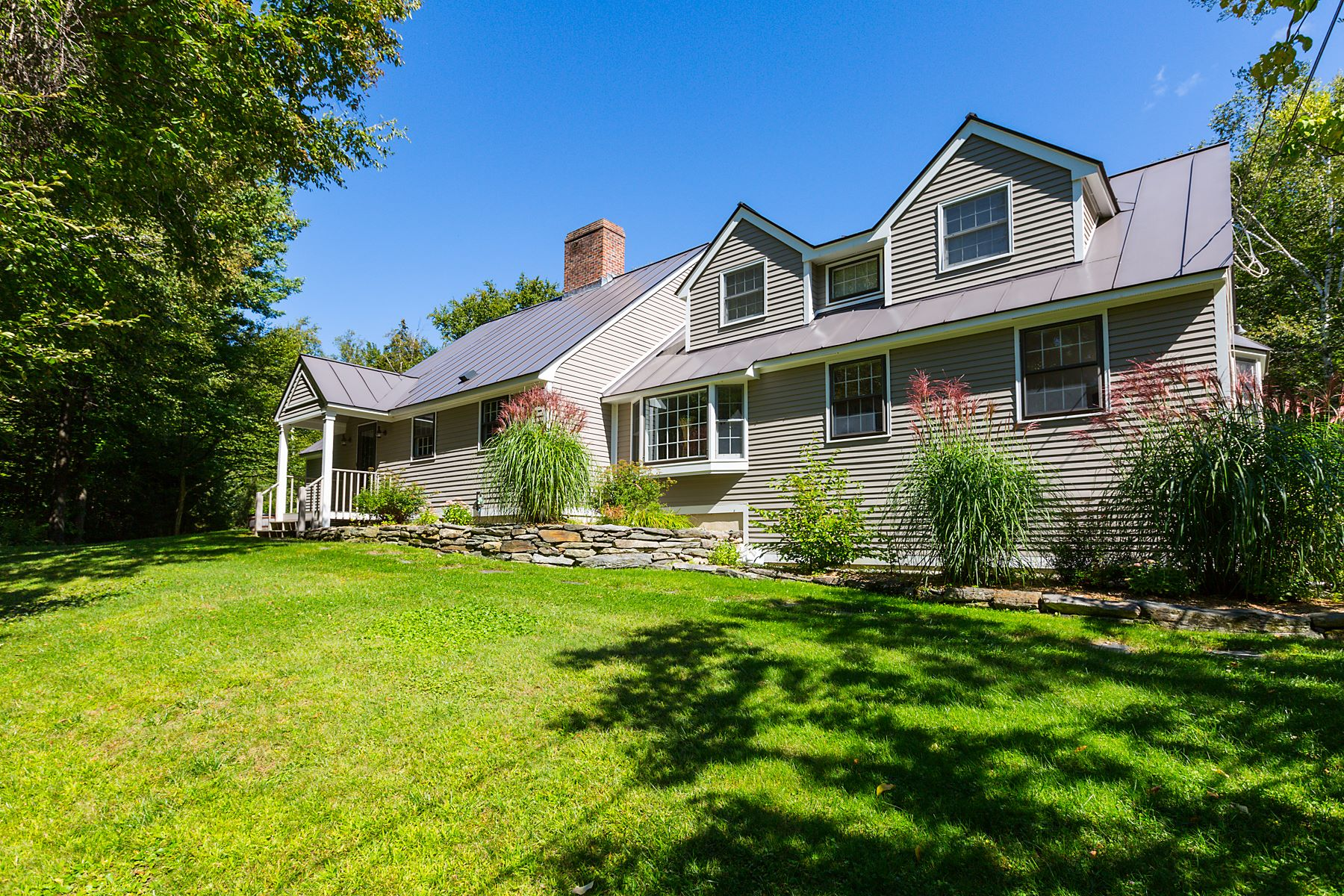 Single Family Homes for Sale at Charming Extended Cape 1442 North Road Barnard, Vermont 05031 United States