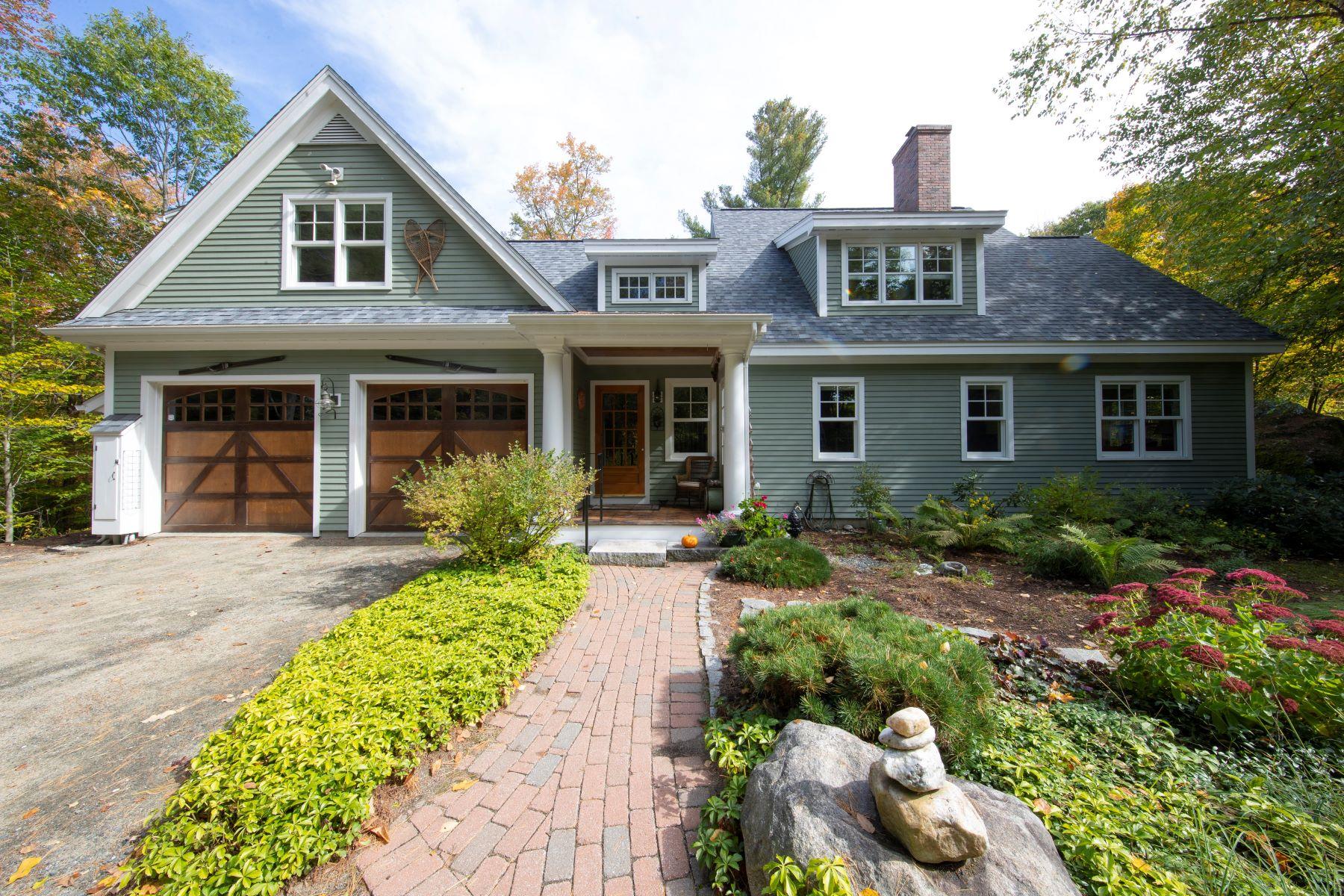 Single Family Homes 为 销售 在 508 Little Sunapee Road 新伦敦, 新罕布什尔州 03257 美国