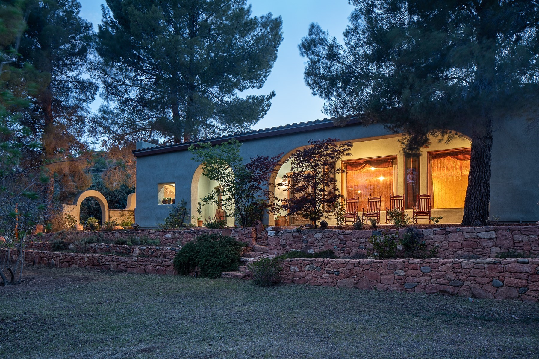 Single Family Homes for Sale at Peaceful Personal Retreat 2670/2680 N Page Springs Rd Cornville, Arizona 86325 United States
