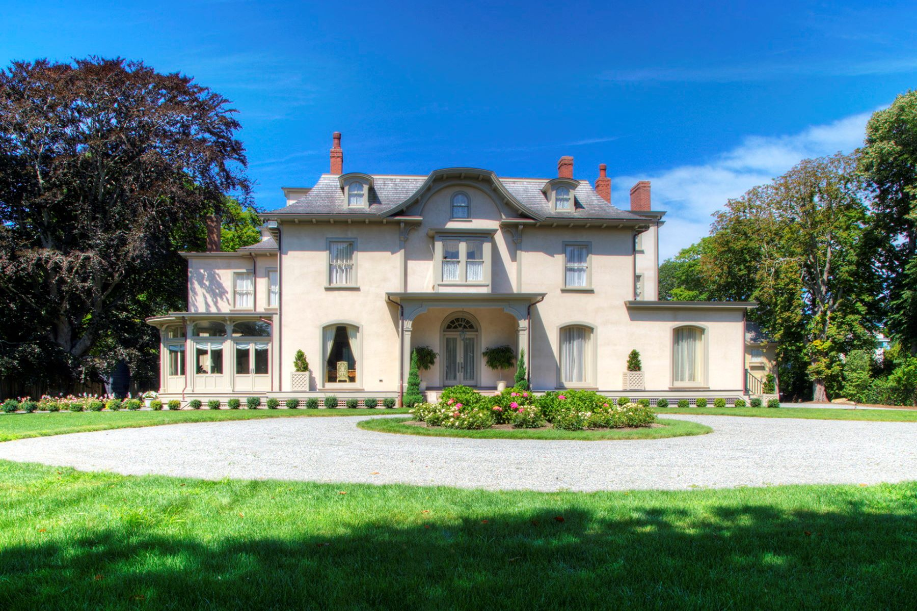 Single Family Homes for Sale at Historic Quatrel on Bellevue 673 Bellevue Avenue Newport, Rhode Island 02840 United States