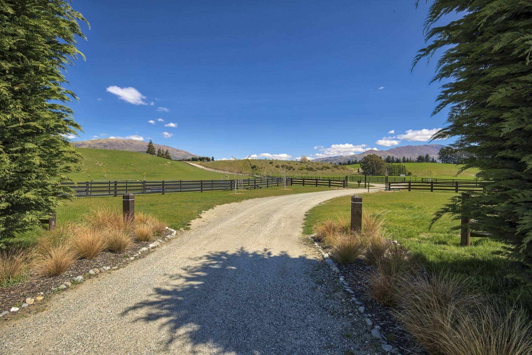 Granjas / Hacienda / Platanción por un Venta en Prestigious Rural Property 474 Wanaka - Luggate Highway Wanaka, Otago 9305 Nueva Zelanda