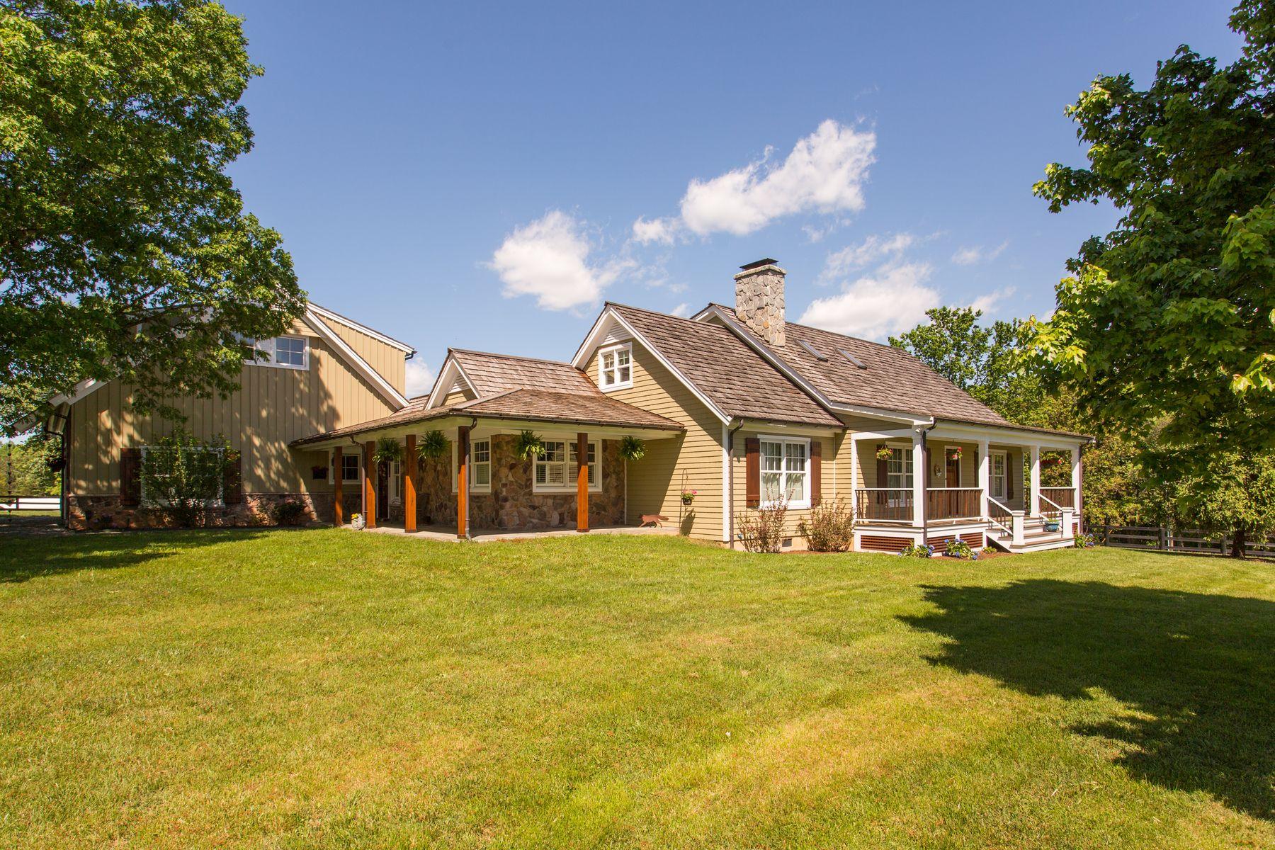 一戸建て のために 売買 アット 4410 Foxcroft Farm Keswick, バージニア, 22947 アメリカ合衆国で/アラウンド: Charlottesville