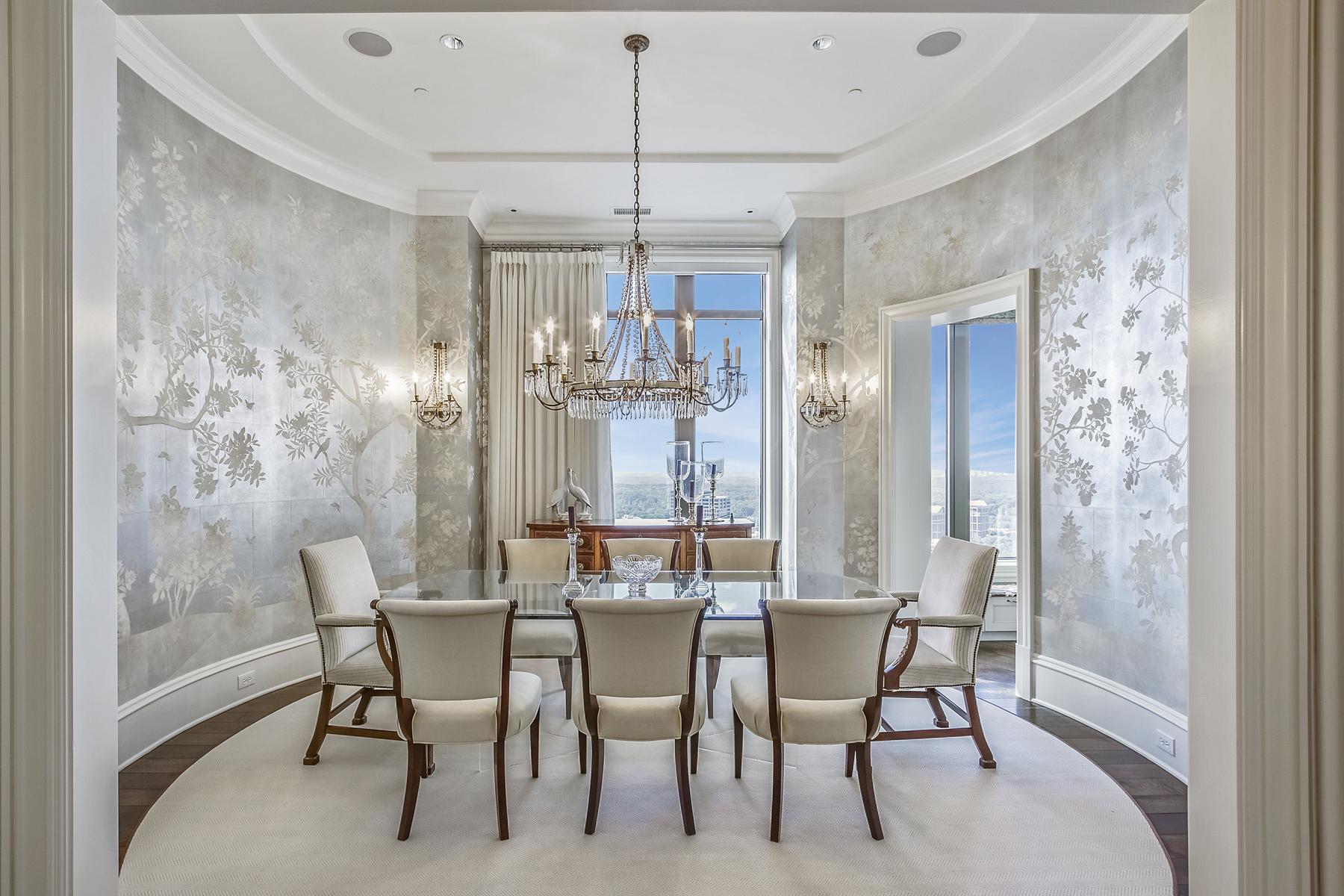 Condomínio para Venda às Unsurpassed Luxury At Mandarin Oriental Residences 3376 Peachtree Road NE No. 47A Atlanta, Geórgia 30326 Estados Unidos