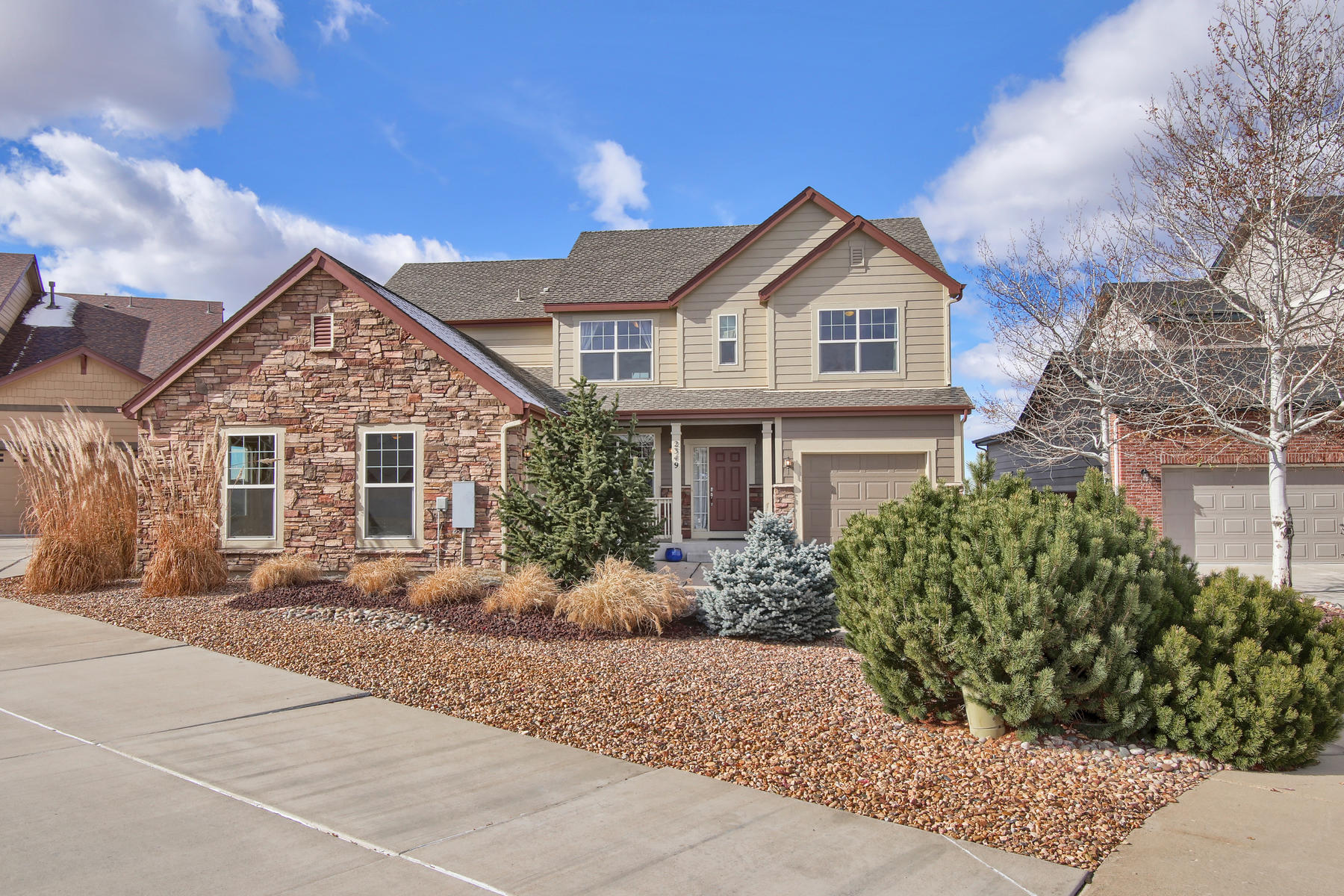 Single Family Home for Active at 2349 Tavern Way 2349 Tavern Way Castle Rock, Colorado 80104 United States