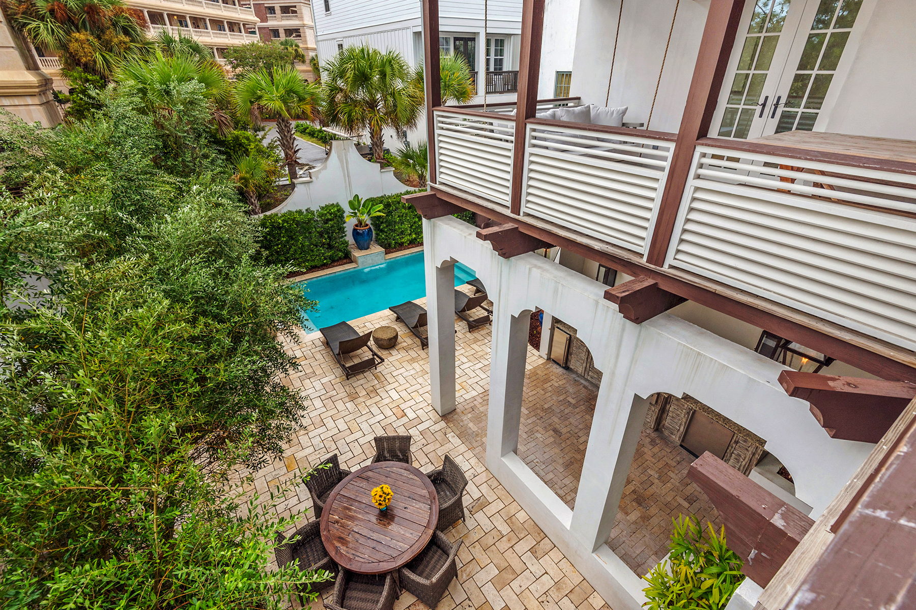 single family homes for Active at Dreamy Rosemary Beach Home 174 W Water Street Rosemary Beach, Florida 32461 United States