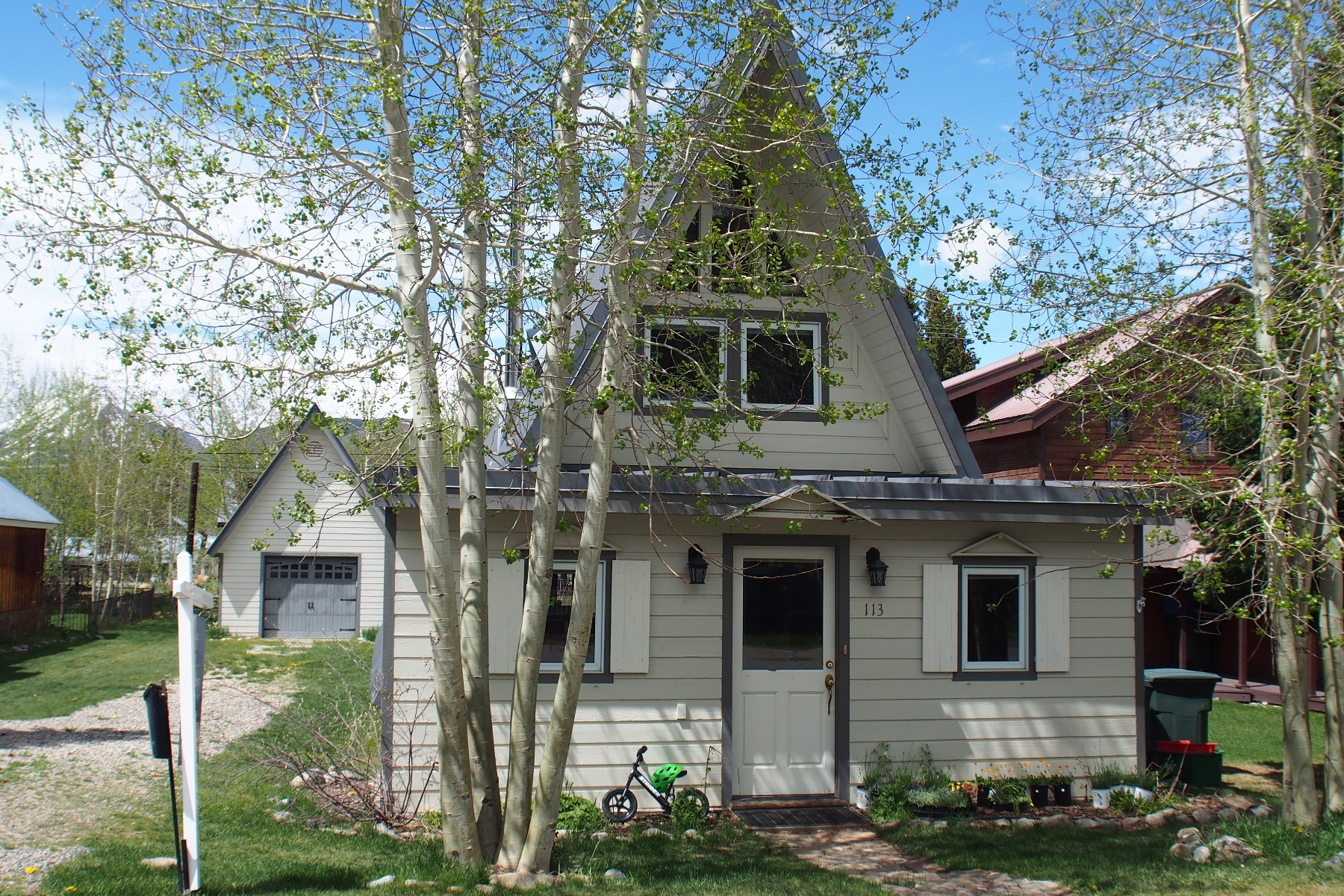 Single Family Home for Sale at Adorable Home in Town 113 Sopris Avenue Crested Butte, Colorado, 81224 United States