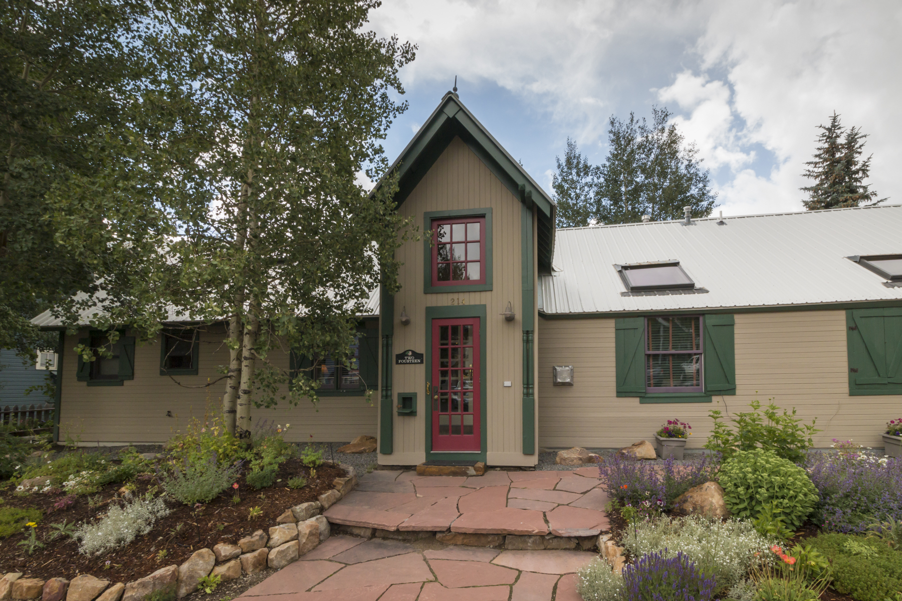 Single Family Home for Sale at Unique Crested Butte Gem 214 TEOCALLI AVENUE Crested Butte, Colorado, 81224 United States