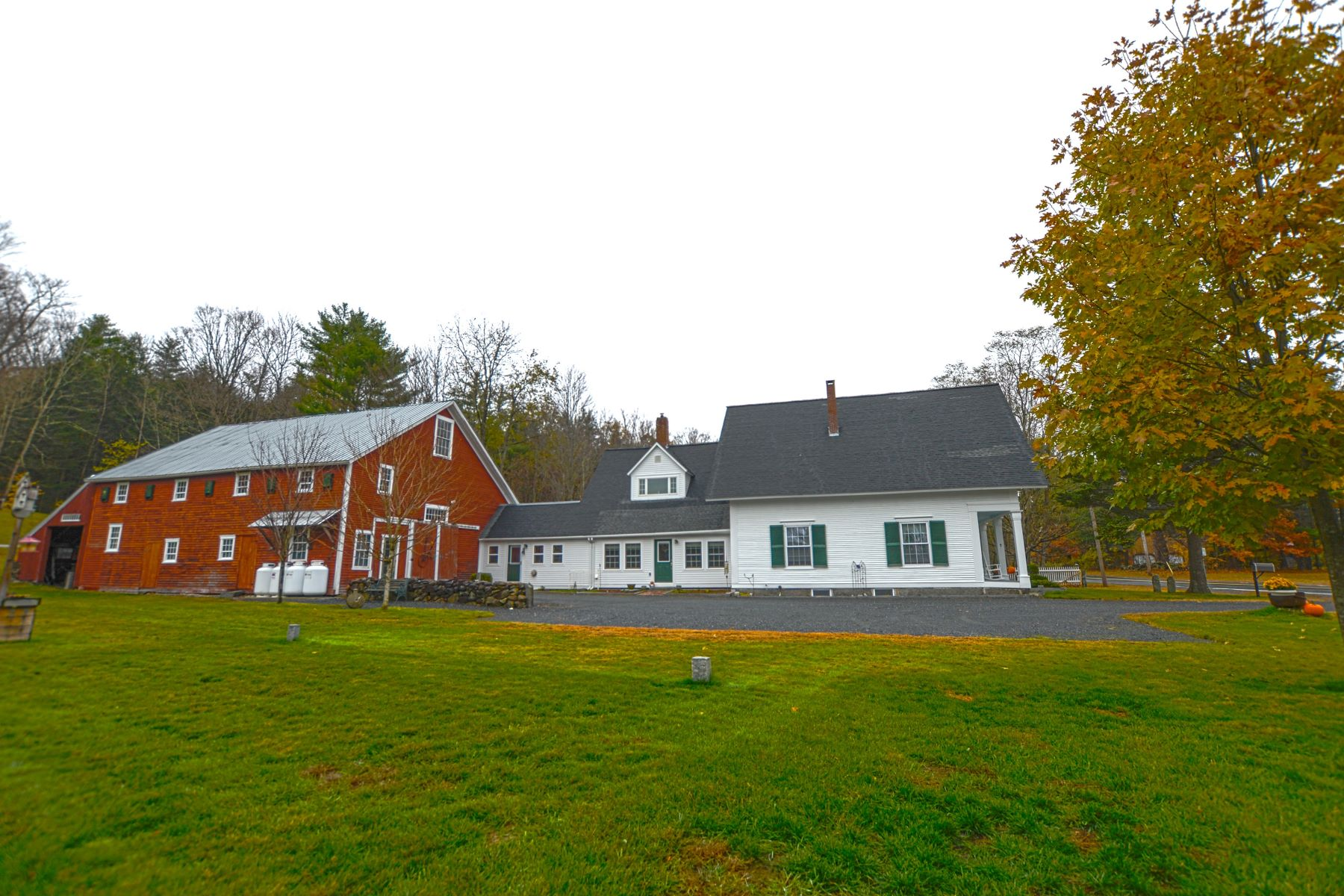 Single Family Home for Sale at Five Bedroom Farmhouse with Barn in Wentworth 859 Mount Moosilauke Hwy Wentworth, New Hampshire 03282 United States