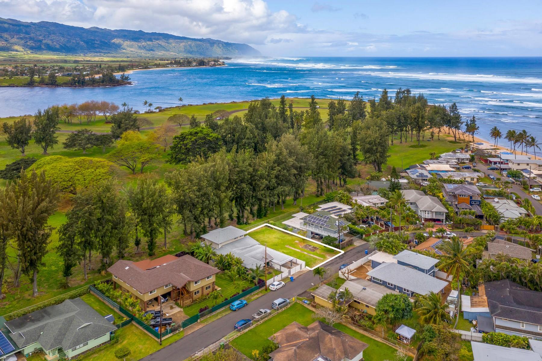 Οικόπεδο για την Πώληση στο Rarely Offered 66-025 Alapii Street, Haleiwa, Χαβαη 96712 Ηνωμένες Πολιτείες