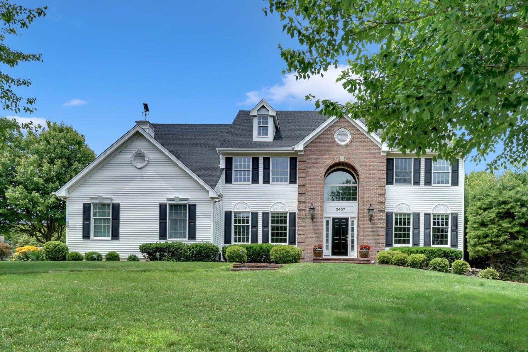 single family homes pour l Vente à Apple Ridge 2407 Colts Foot Trail, Wall, New Jersey 08736 États-Unis