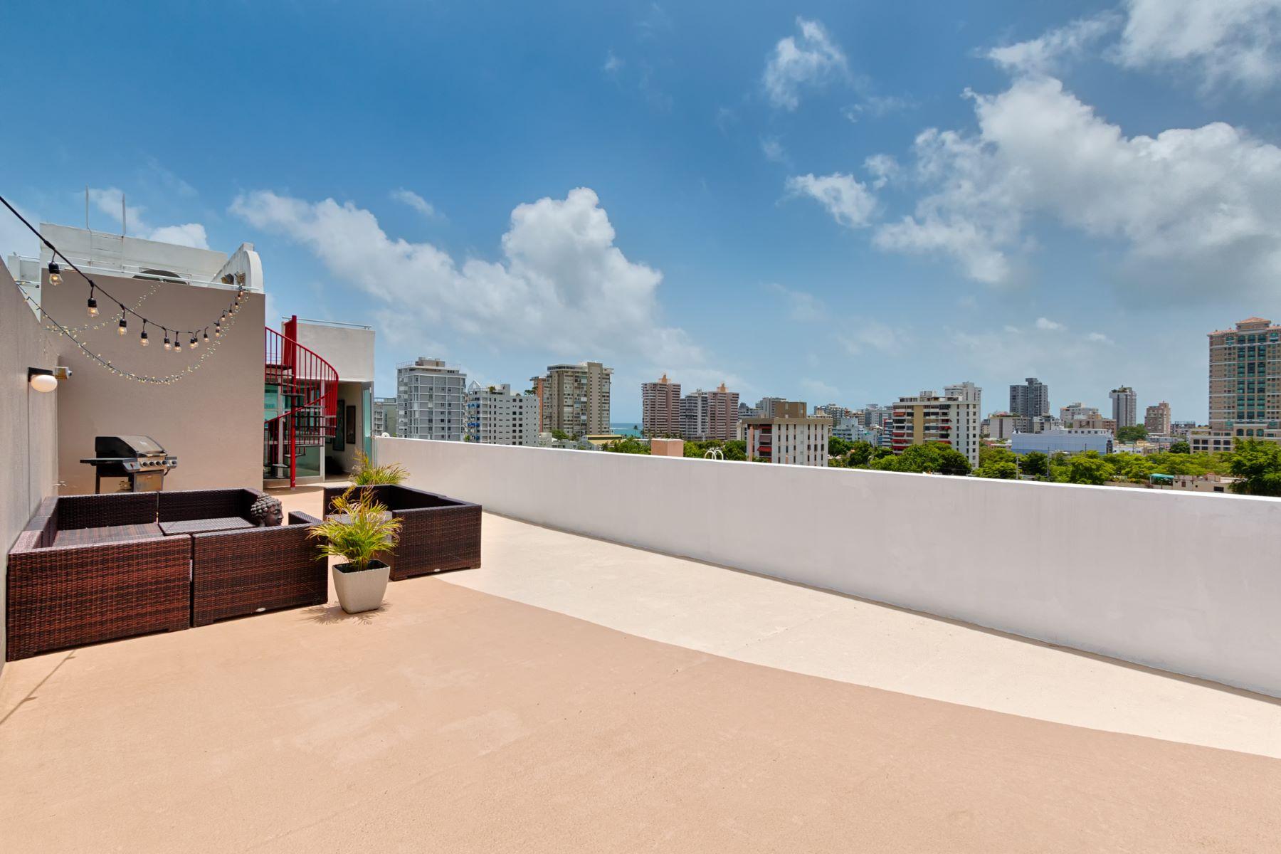 公寓 為 出售 在 Costa Condado Penthouse 1420 Wilson Street Apt. 801 San Juan, 00907 波多黎各