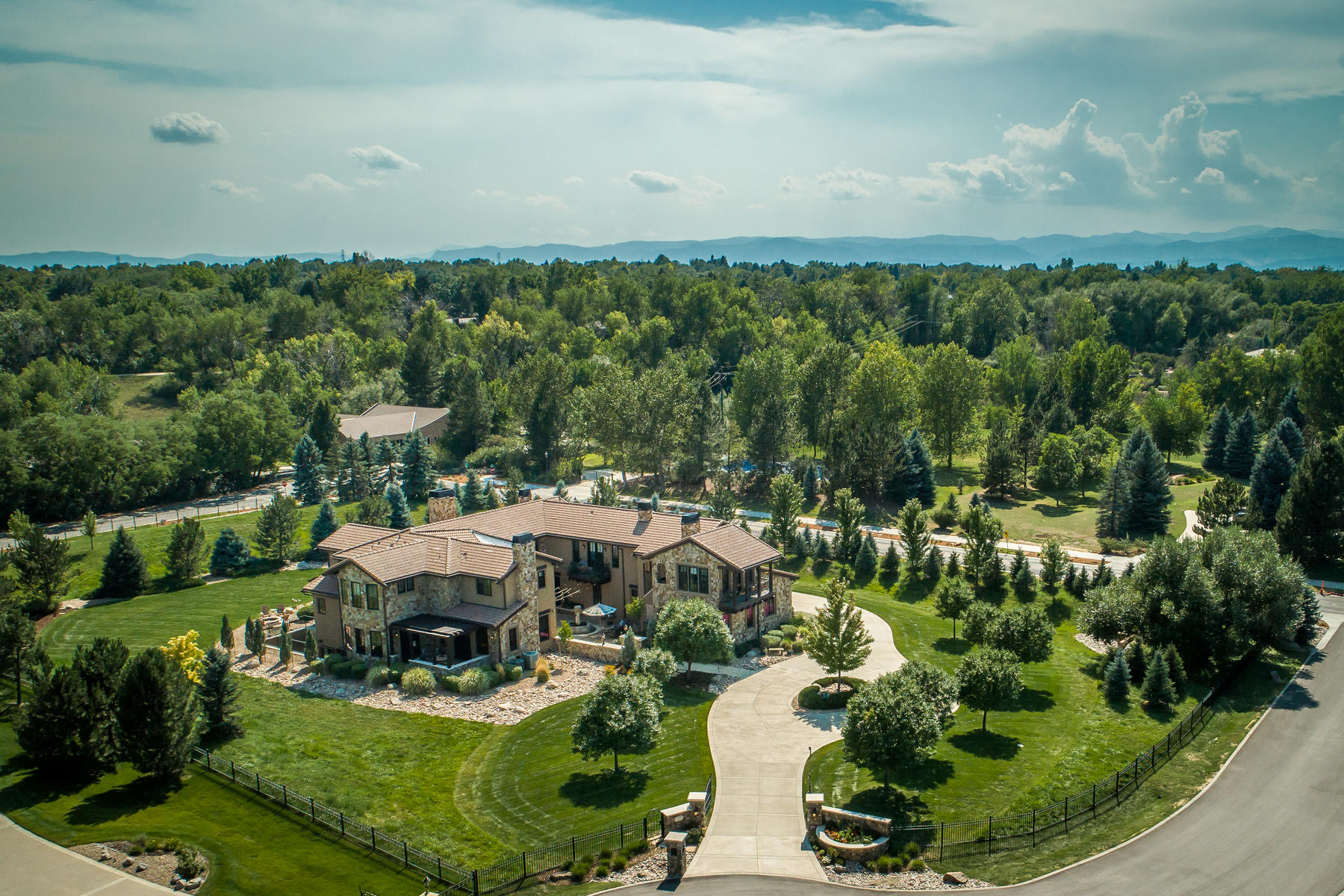 Single Family Home for Active at Be swept away in the romance of an Italian villa. 3830 E Fox Trl Greenwood Village, Colorado 80121 United States