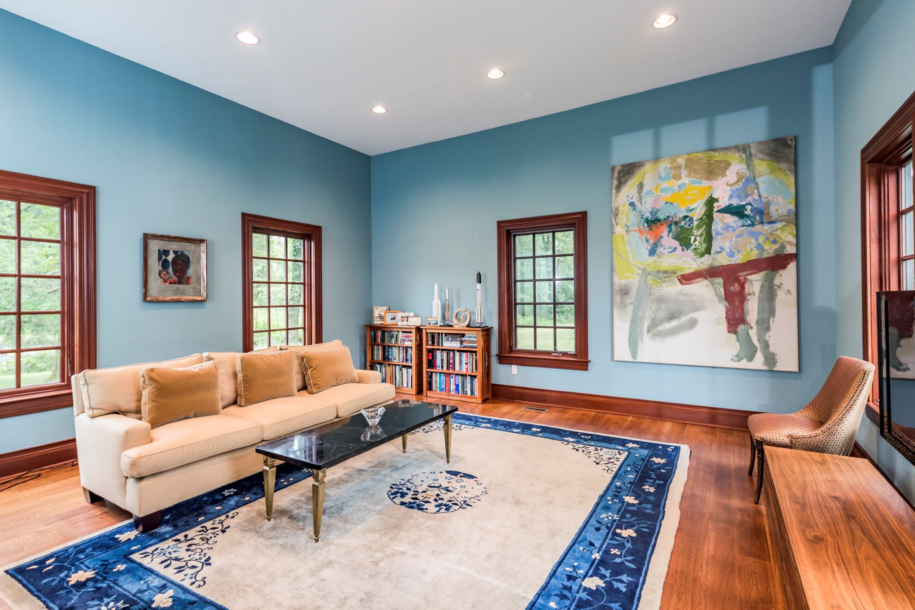 Additional photo for property listing at A Modern & Luxuriant Take on the Classic Home 419 Great Road, Princeton, New Jersey 08540 Vereinigte Staaten