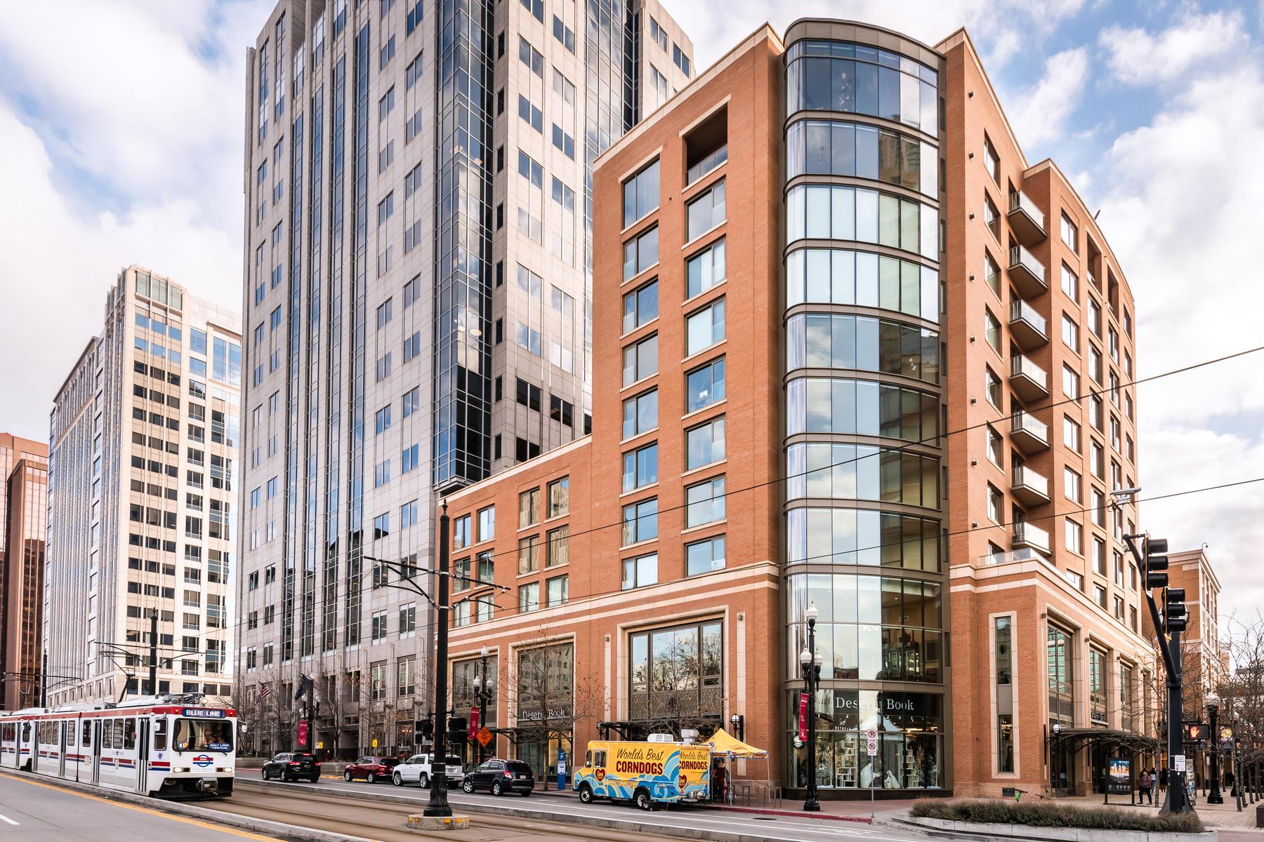 Condominiums for Sale at Incredible City Creek Condominium 45 W South Temple 203 Salt Lake City, Utah 84101 United States