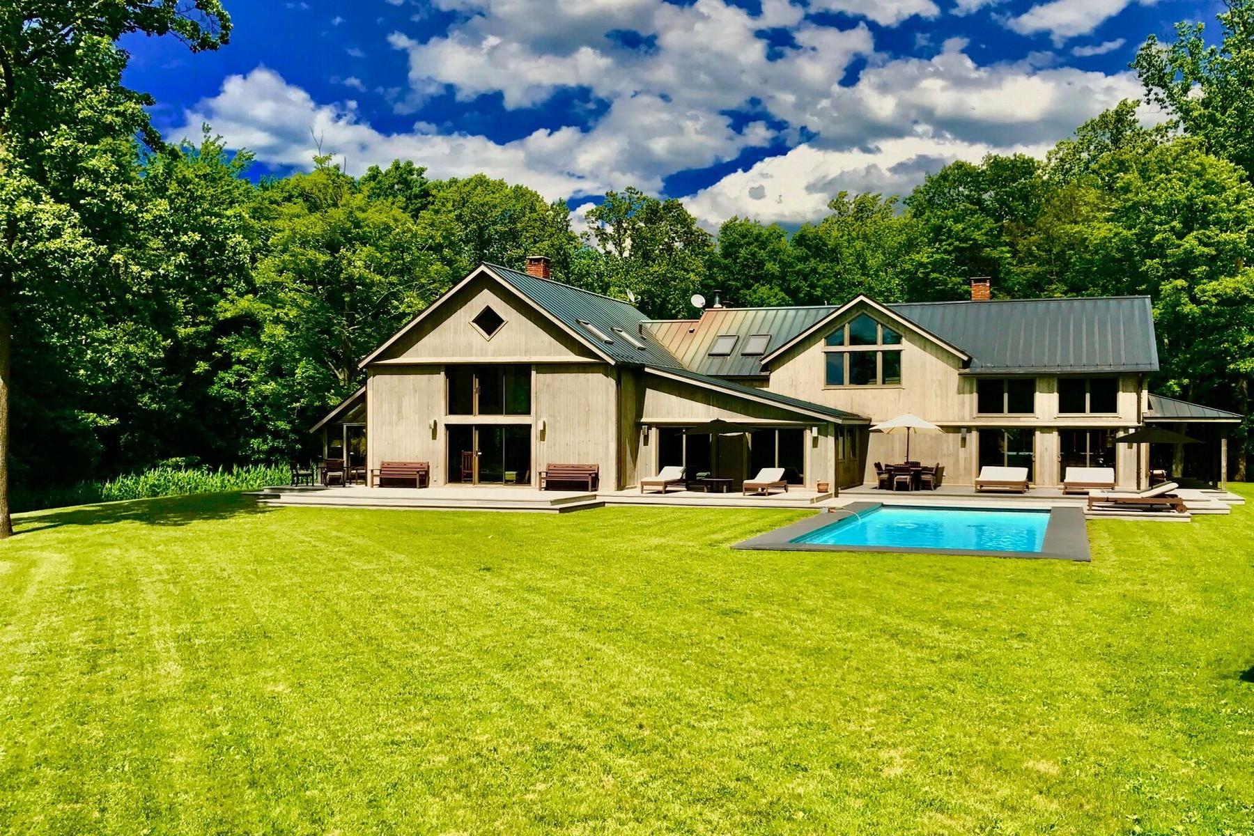 Maison unifamiliale pour l Vente à Tribeca Transported 316 Avery Road Garrison, New York 10524 États-Unis