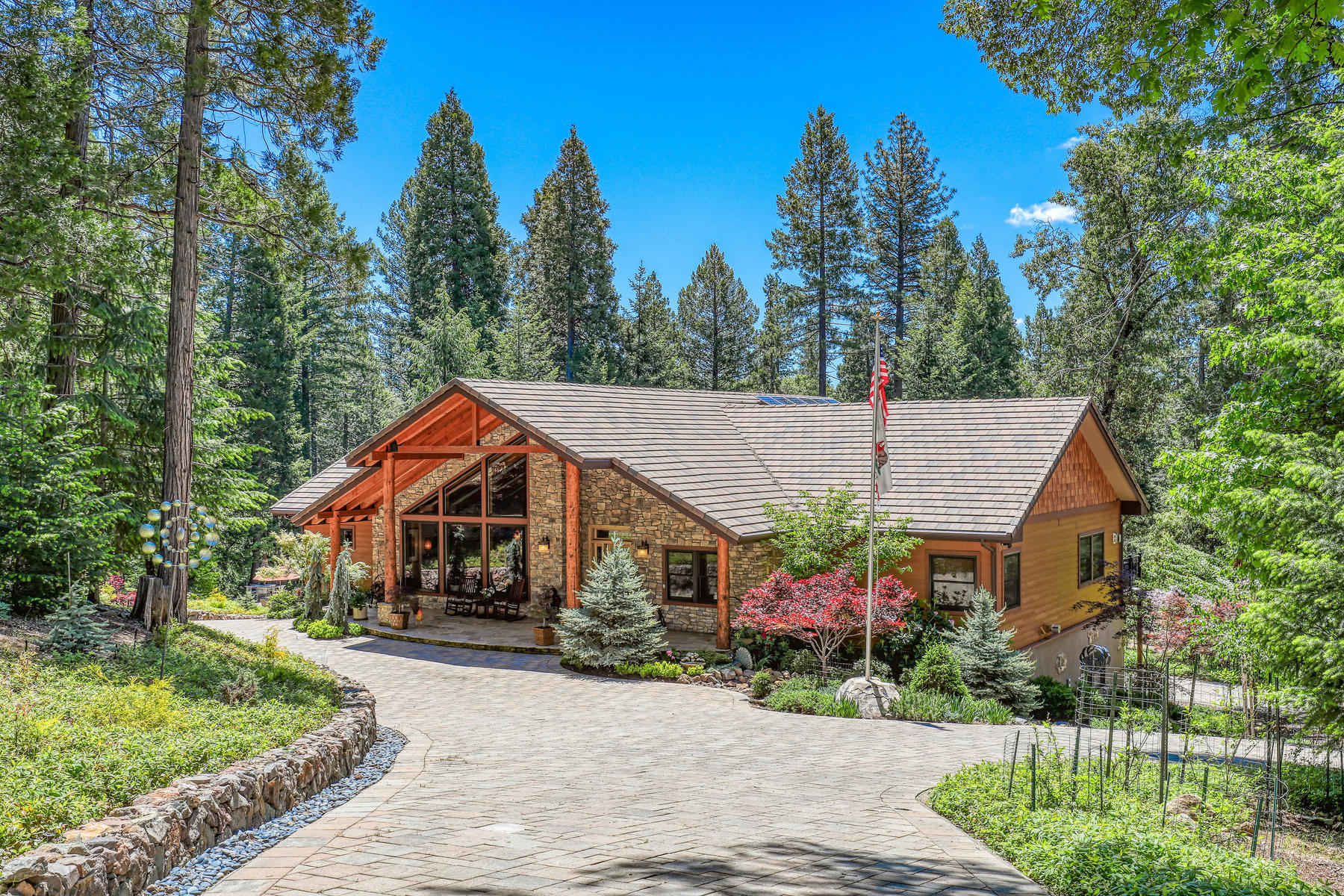 Property for Active at Custom Tahoe-Style Eco Home 13905 Gemini Court Nevada City, California 95959 United States