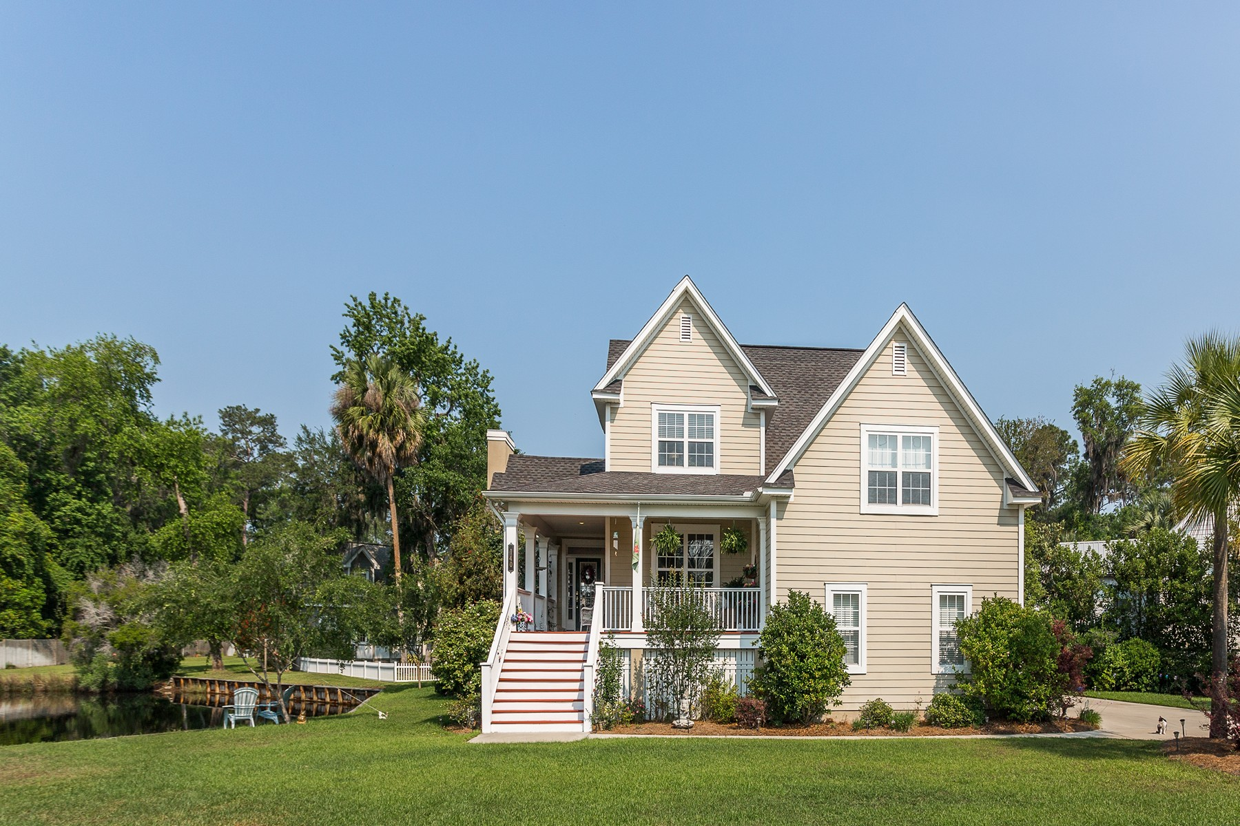 Single Family Homes for Active at 140 Picket Landing Brunswick, Georgia 31520 United States
