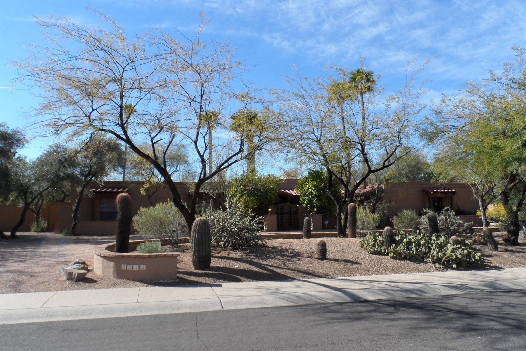 一戸建て のために 賃貸 アット Beautiful Custom Built Home in McCormick Ranch 8353 E Via De La Gente, Scottsdale, アリゾナ, 85258 アメリカ合衆国