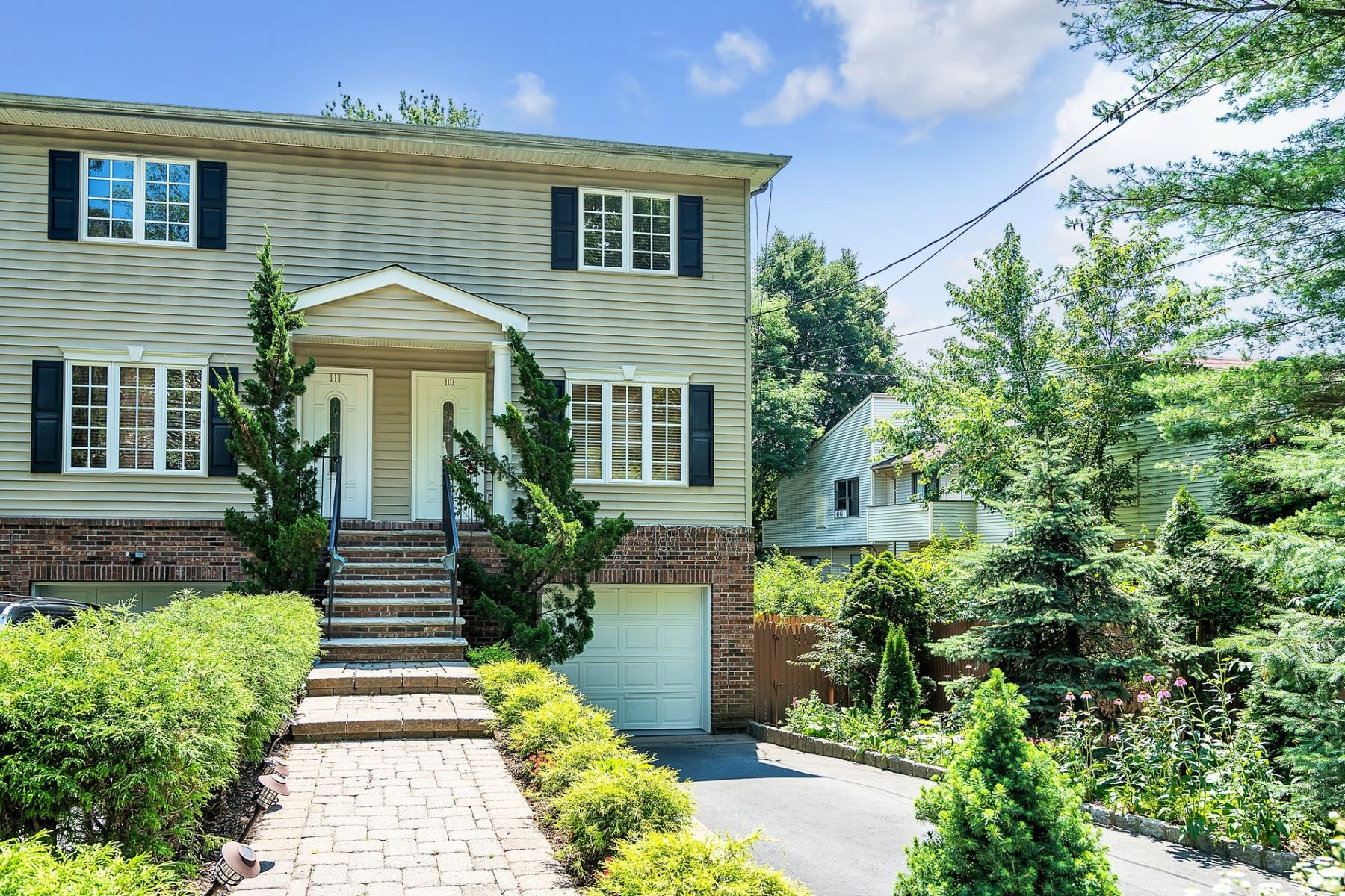 Duplex for Sale at Pristine and Bright 113 Lafayette Pl, Englewood, New Jersey 07631 United States