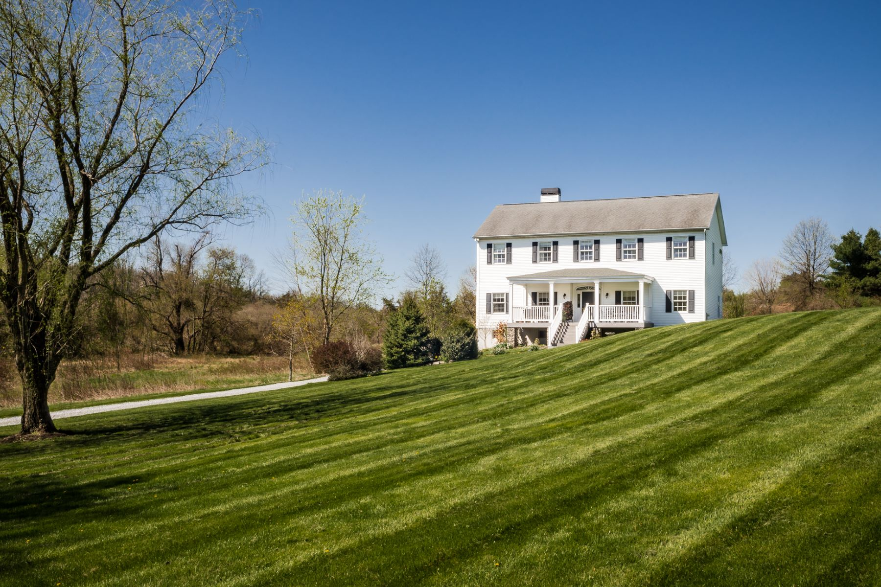Single Family Home for Sale at Take In The Scenery - Hopewell Township 85 Harbourton Mount Airy Road Lambertville, New Jersey 08530 United States