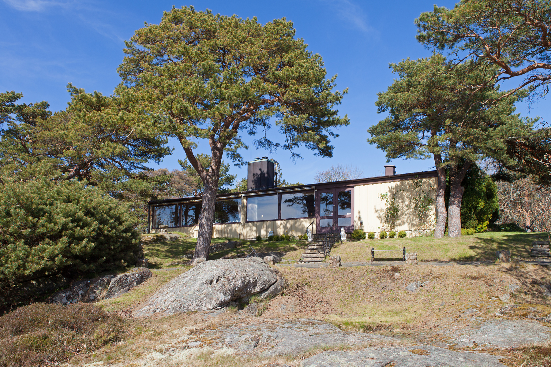 Single Family Home for Sale at Privat location with sea view Särö Backe 12 Other Vastra Gotaland, Vastra Gotaland, 42943 Sweden