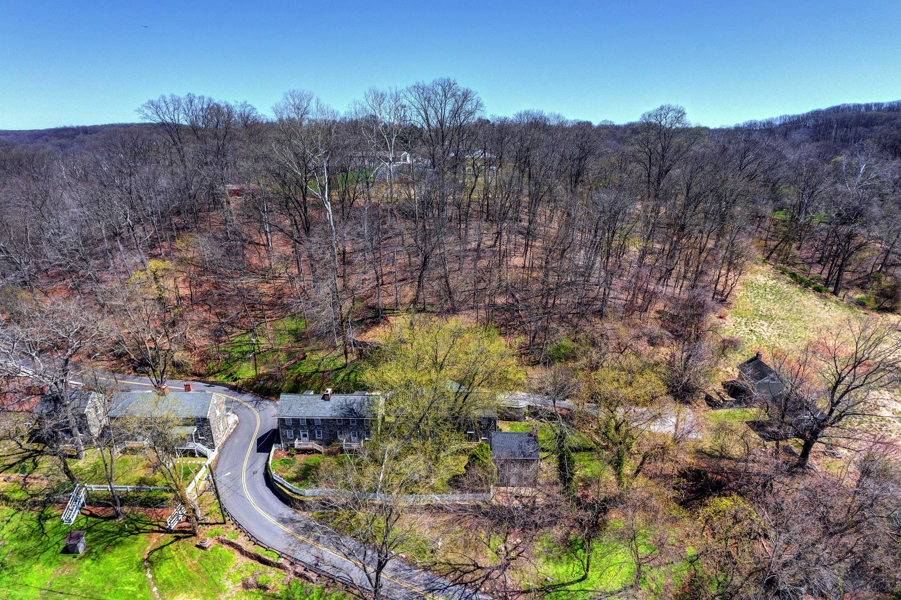Single Family Homes for Sale at Granite Hill Stone Home and Guest Cottage Combination 1217 Oella Avenue Ellicott City, Maryland 21043 United States