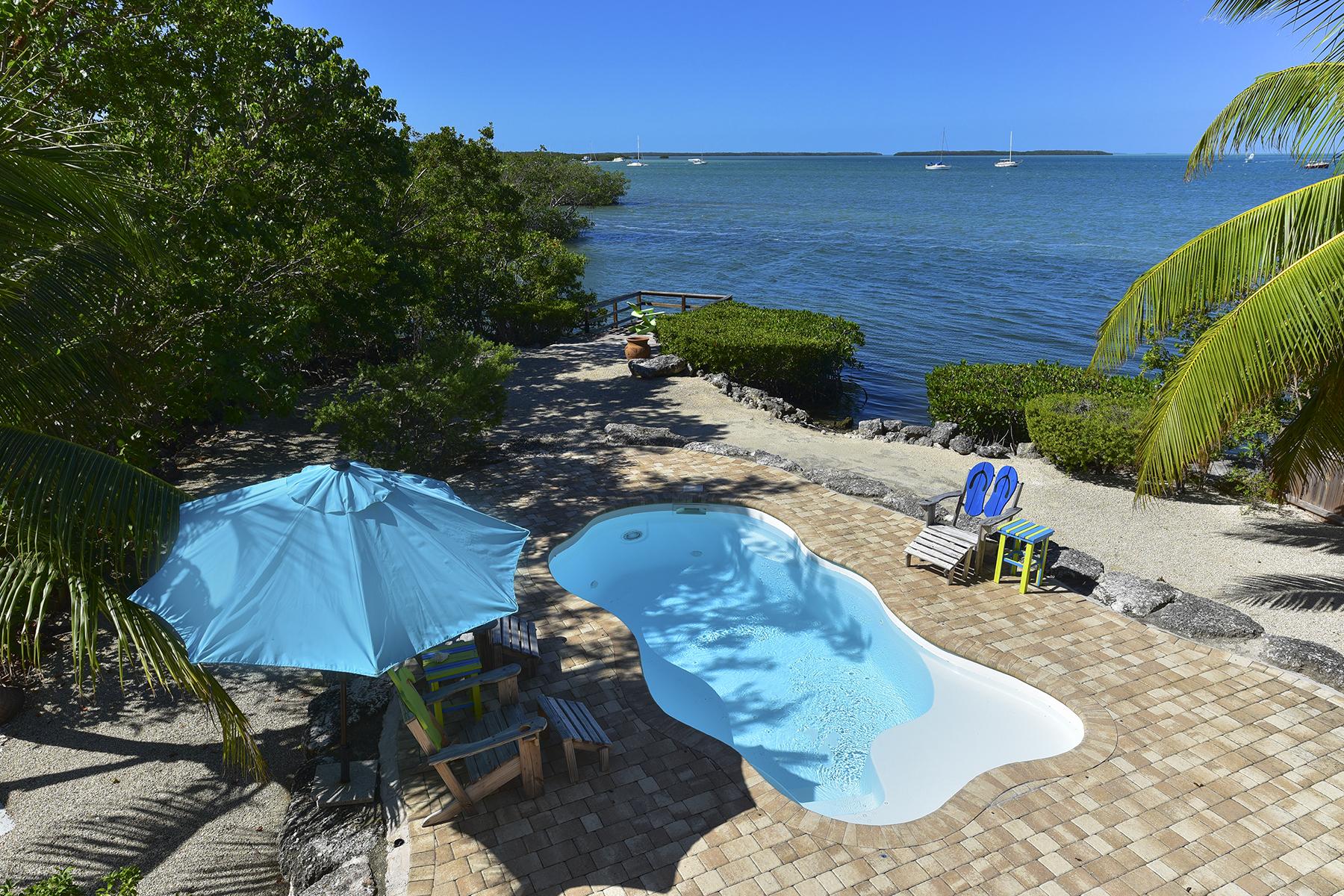 Single Family Home for Rent at Happy Tarpon 118 Madeira Rd Islamorada, Florida 33036 United States