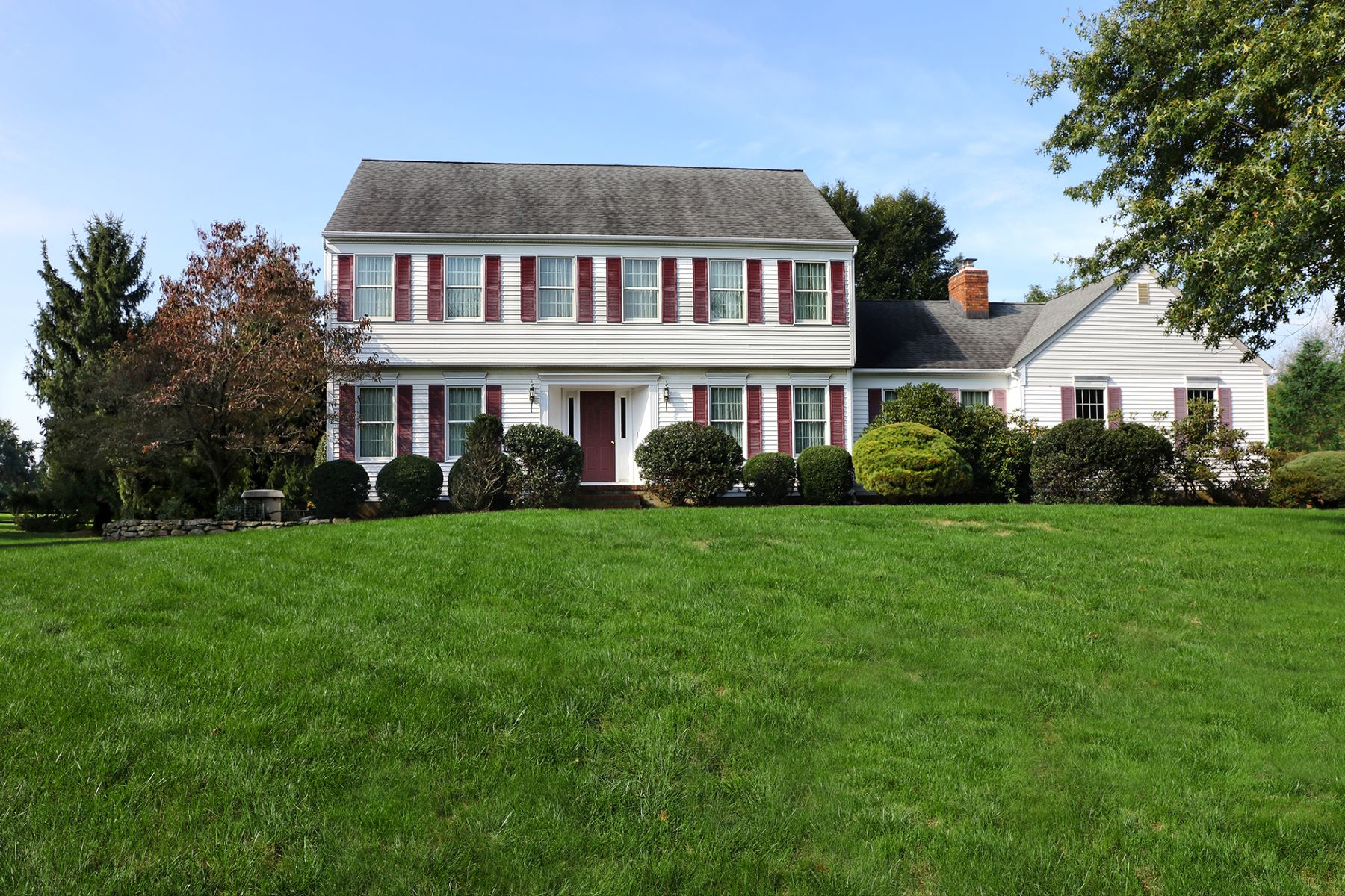 Single Family Home for Sale at A Classic Colonial With A Few Surprises 19 Richmond Drive, Skillman, New Jersey 08558 United StatesMunicipality: Montgomery Township