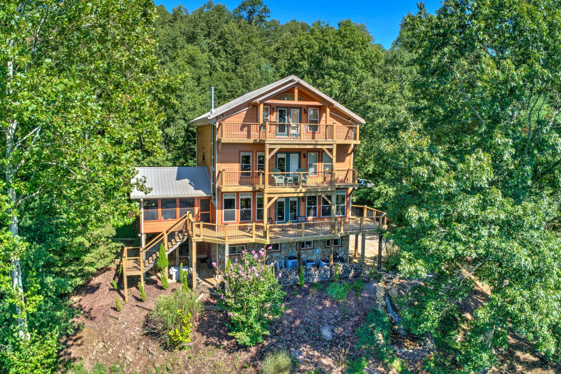 Single Family Homes for Active at Private Mountain Setting 133 Water Tank Road Butler, Tennessee 37640 United States