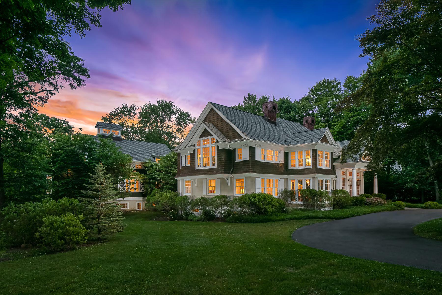 Single Family Homes 용 매매 에 Iconic Morris Township Property 5 Doe Hill Road, Morris Township, 뉴저지 07960 미국