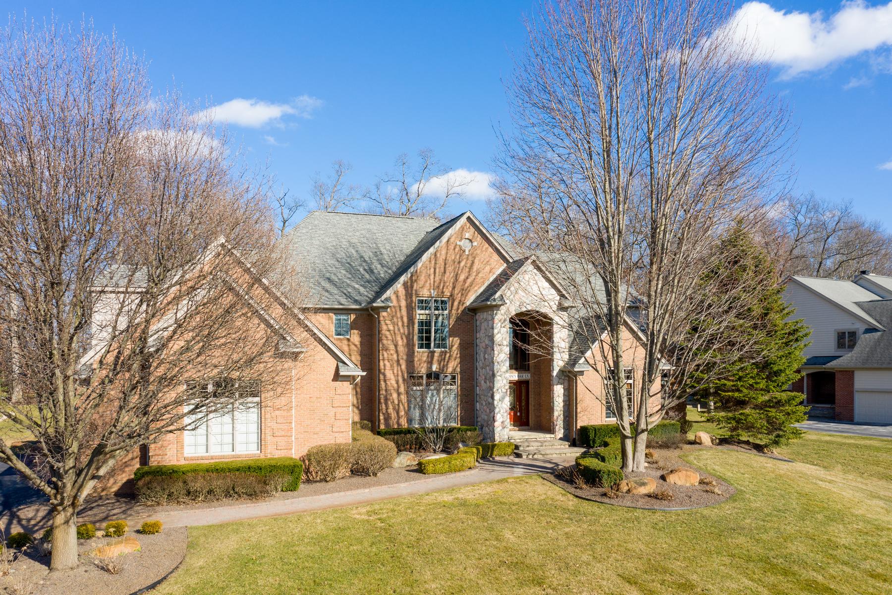 Single Family Homes pour l Vente à Washington Township 67584 Hidden Oak Lane Washington Township, Michigan 48095 États-Unis