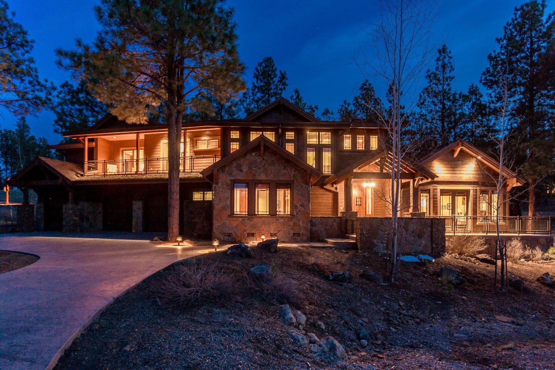 独户住宅 为 销售 在 Stunning Mountain Luxury Retreat 1999 E Bare Oak Loop 弗拉格斯塔夫, 亚利桑那州, 86005 美国