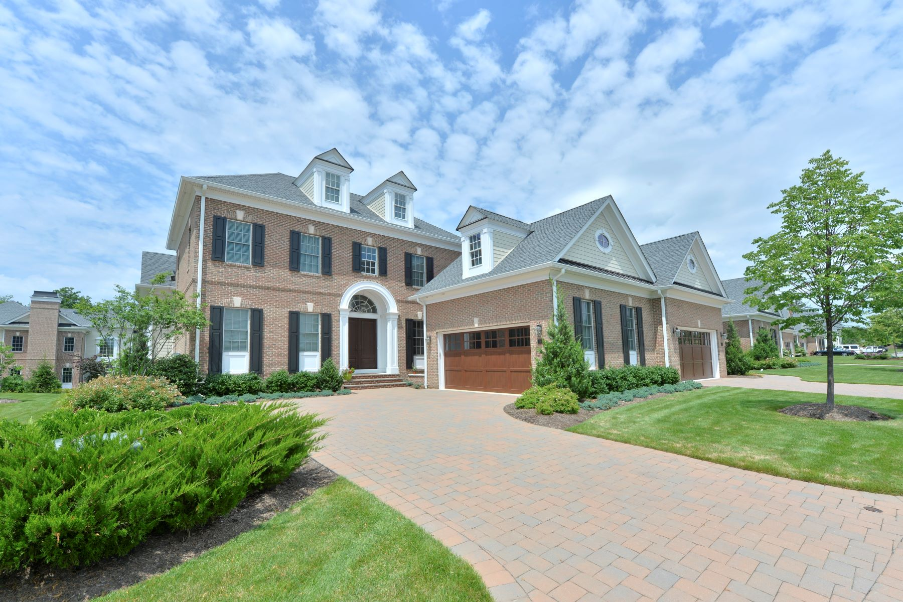Townhouse for Sale at Prestigious End Unit 101 Cortland Dr, Saddle River, New Jersey 07458 United States