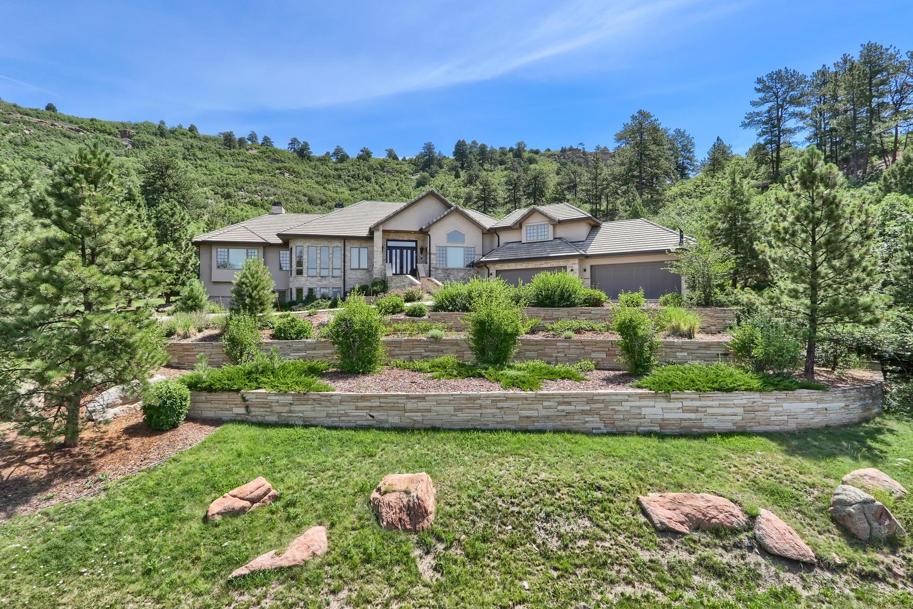 Single Family Homes for Sale at 1023 Anaconda Drive Castle Rock, Colorado 80108 United States