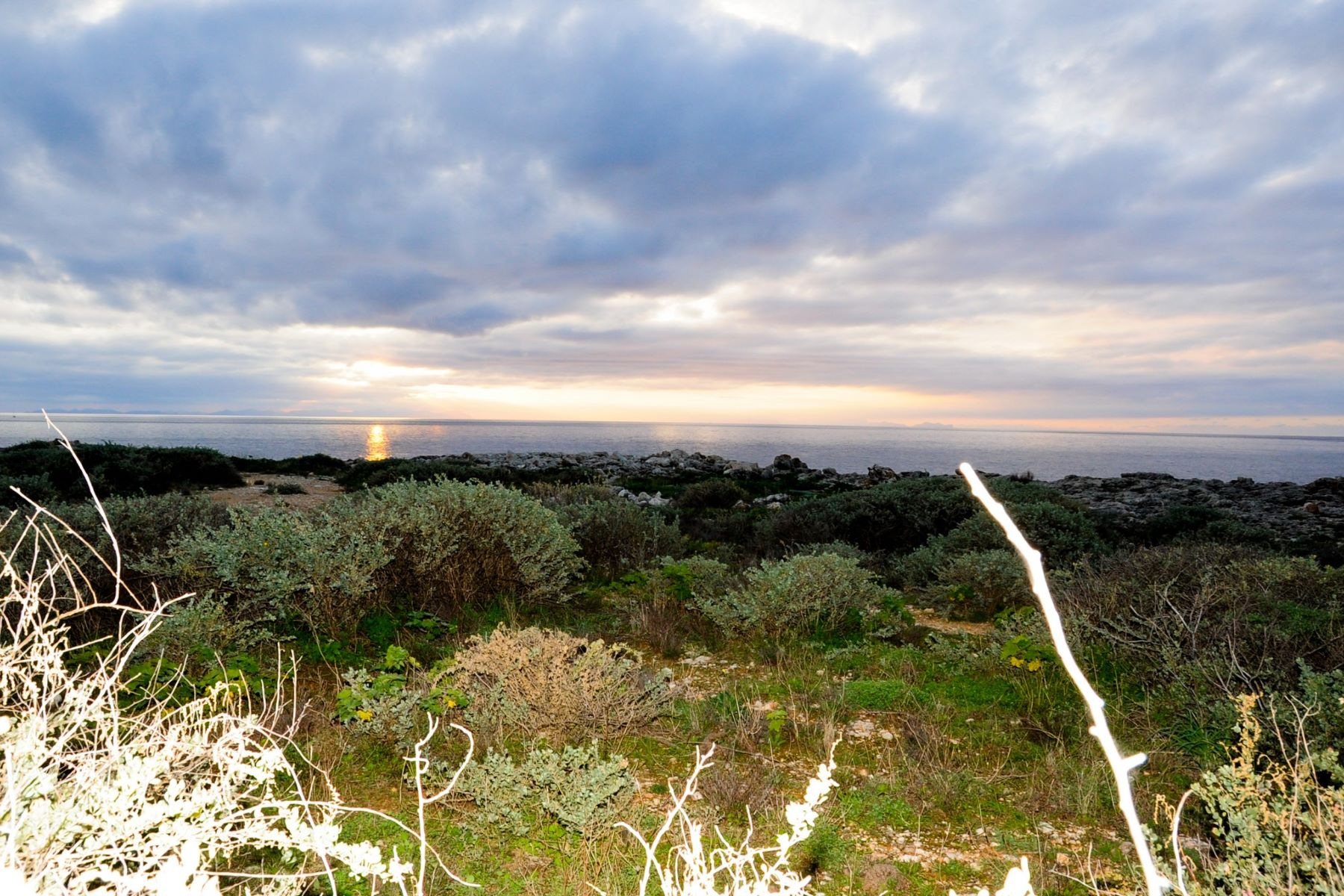Land for Sale at Sea front plot in Cala Blanca Menorca, Menorca, Spain