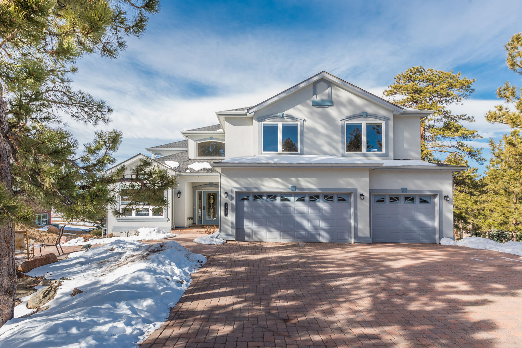 Single Family Home for Sale at Mountain Contemporary Home on 1.27 Acres with Expansive Views 23481 Morning Rose Drive Golden, Colorado 80401 United States
