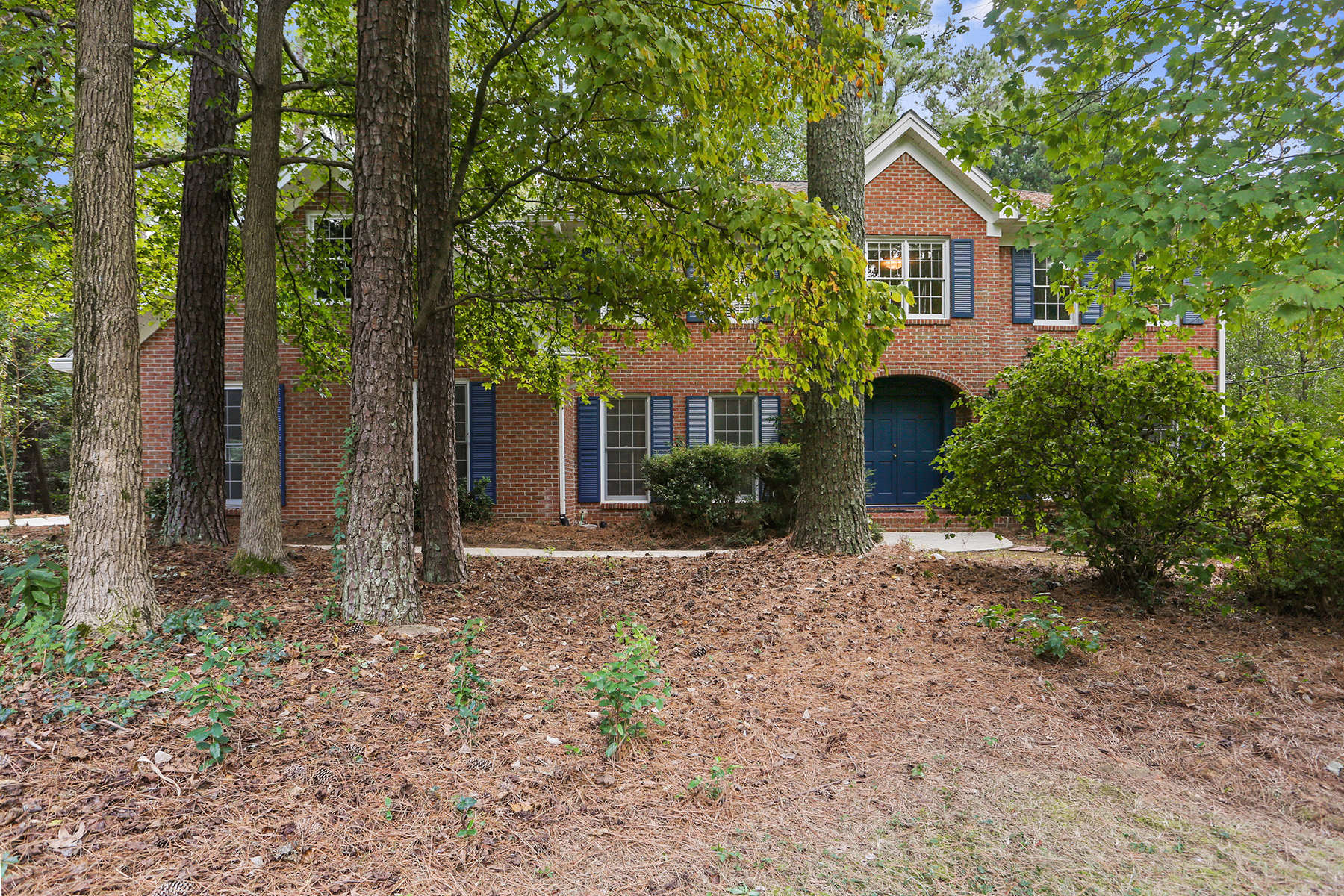 Single Family Home for Sale at Classic Spalding Woods Brick Traditional Home With Endless Possibilities! 5 Messina Way Sandy Springs, Georgia 30328 United States