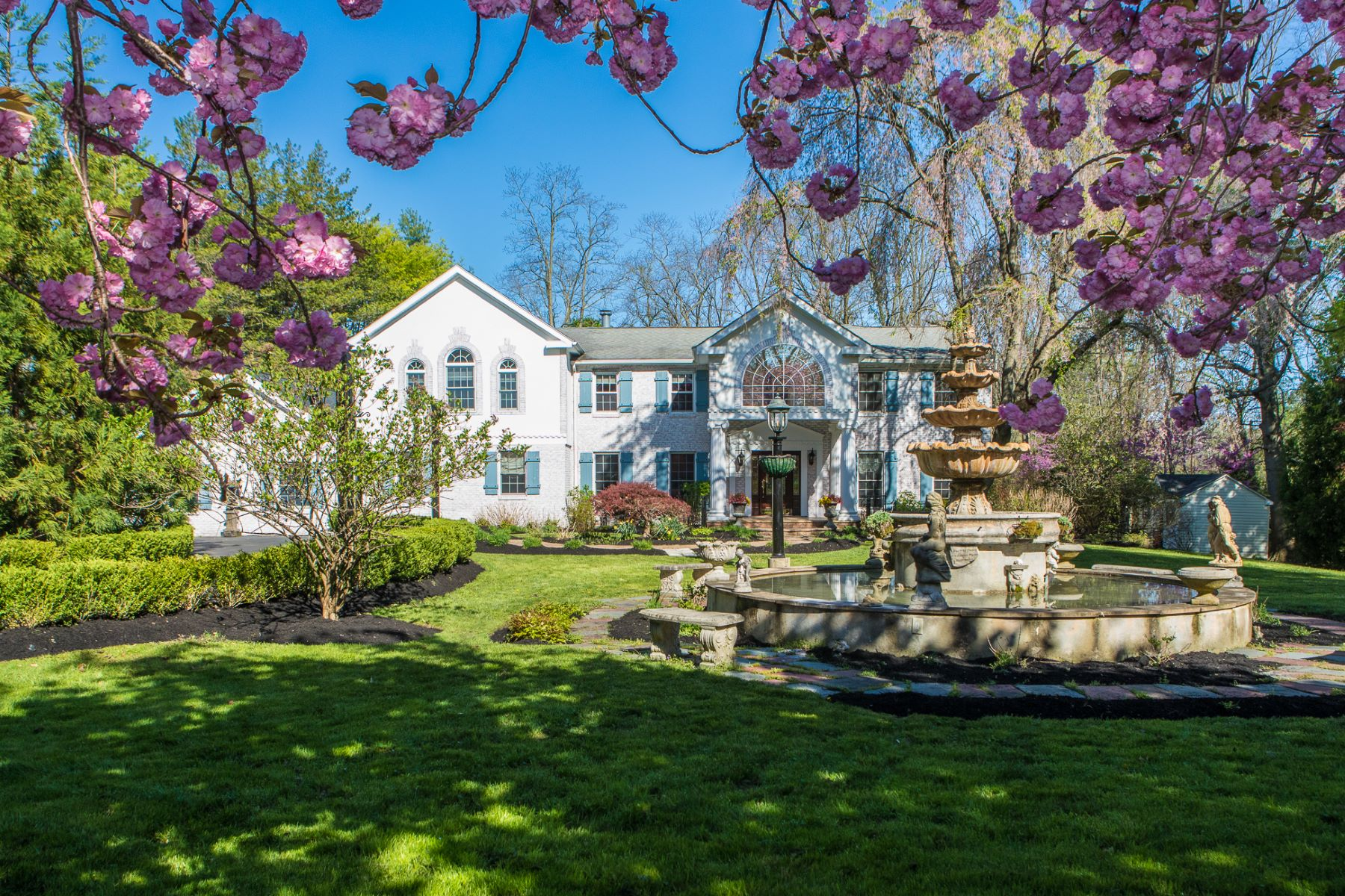 Property for Sale at Old World Glamour and Profound Privacy 3735 Lawrenceville Princeton Road, Princeton, New Jersey 08540 United States