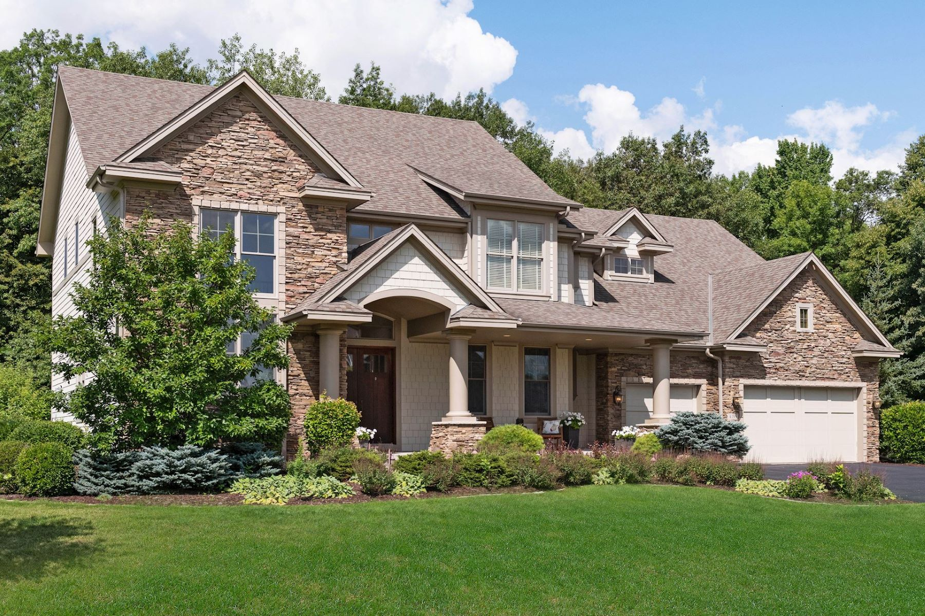 Single Family Homes for Sale at Exquisite Custom Built Home Set upon a Picturesque Private Medina Lot 4195 Wild Meadows Drive Medina, Minnesota 55340 United States