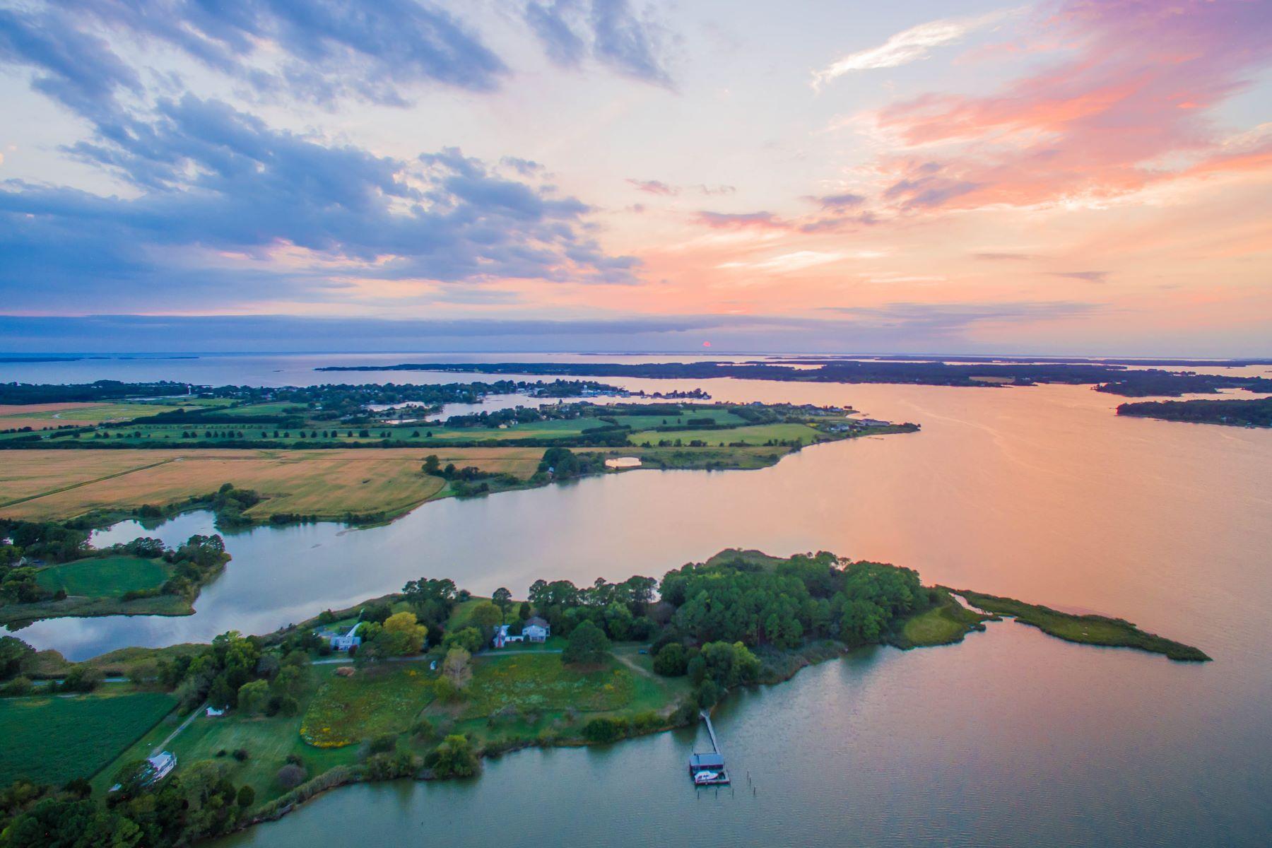 Terrain pour l Vente à 5252 Long Point Farm Drive Lot 1 Oxford, Maryland, 21654 États-Unis