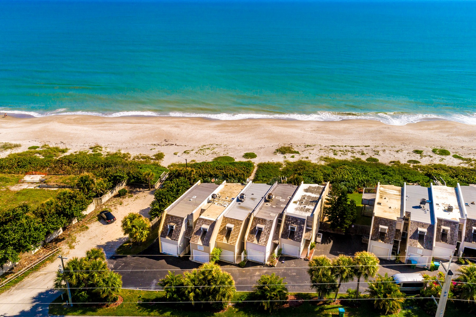 townhouses for Sale at Stunning Oceanfront Town Home Featuring Plenty of Natural Light 1405 Atlantic Street Melbourne Beach, Florida 32951 United States