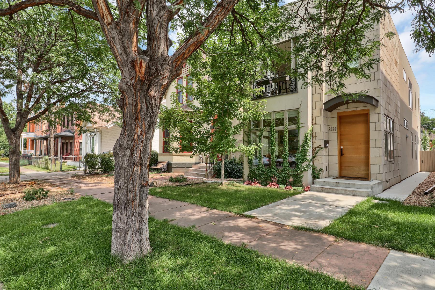 Casa Unifamiliar por un Alquiler en Sophistication Meets Urban Hip 2520 Stout St Denver, Colorado 80205 Estados Unidos