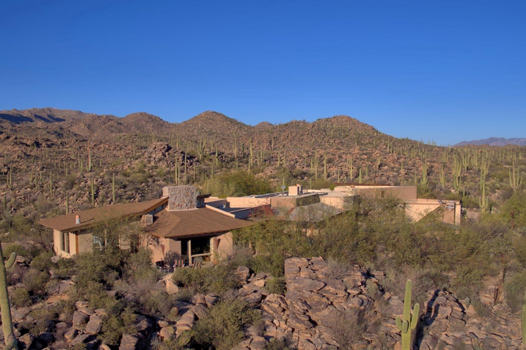 一戸建て のために 売買 アット Hacienda Ranch on 6.29 Pristine Acres 13550 N Thornydale Road, Tucson, アリゾナ, 85742 アメリカ合衆国