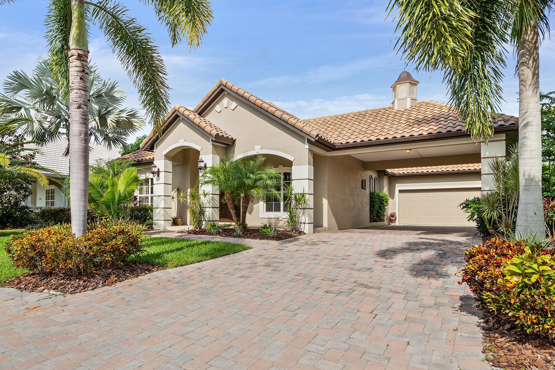 Single Family Homes のために 売買 アット HABROUR WALK RIVERDALE REV 4713 Mainsail Dr Bradenton, フロリダ 34208 アメリカ