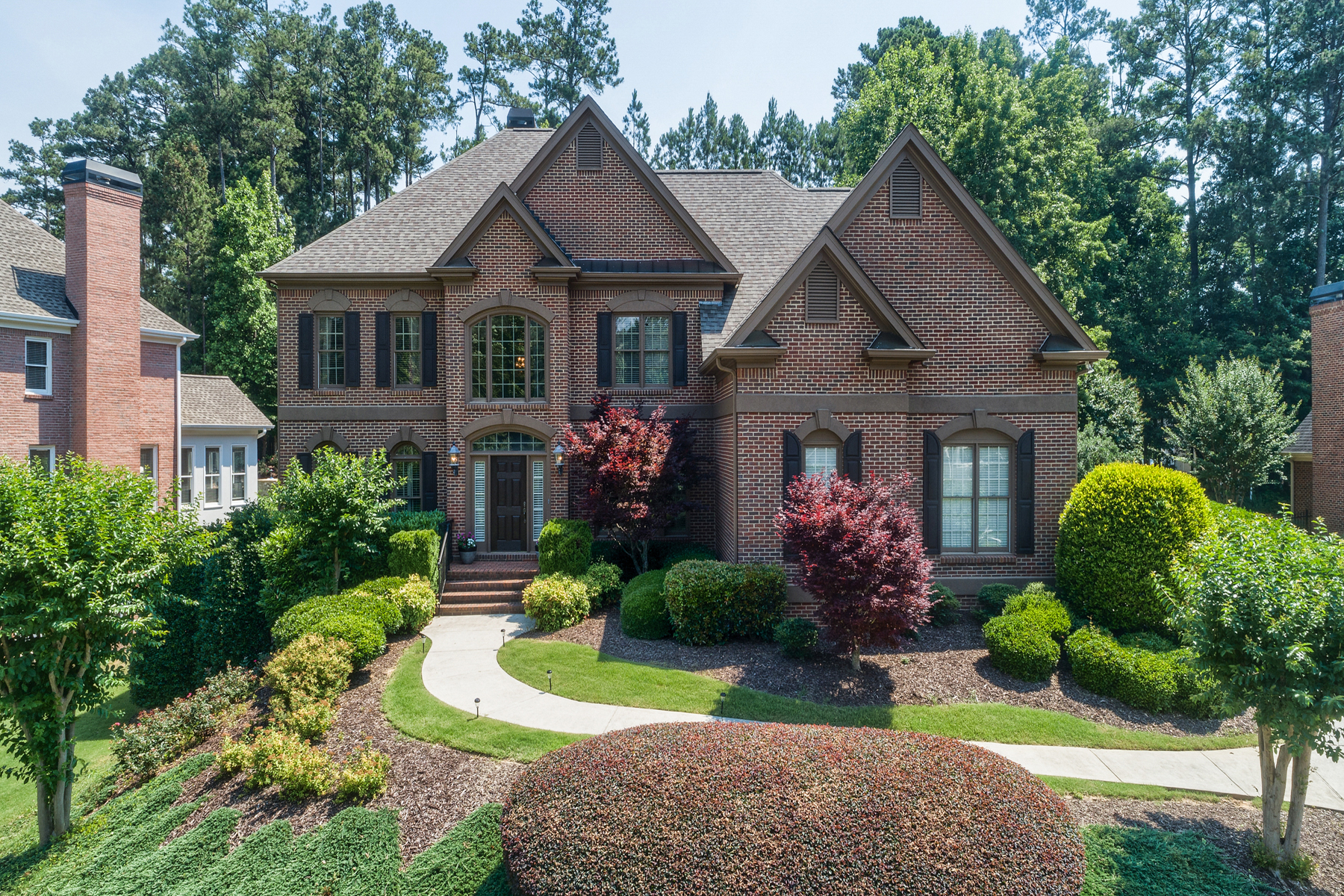 Single Family Home for Sale at Spectacular Executive Home In Crooked Creek 14401 Club Cir Milton, Georgia 30004 United States