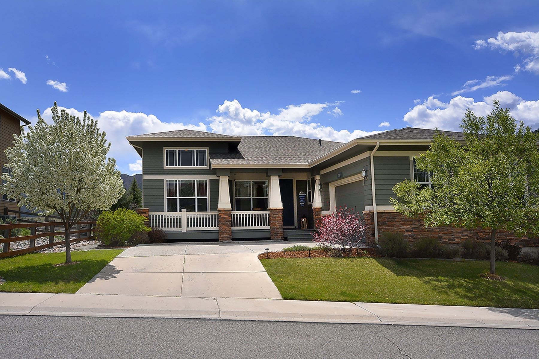Single Family Home for Active at Castle Valley Ranch 519 S. Wildhorse Drive New Castle, Colorado 81647 United States