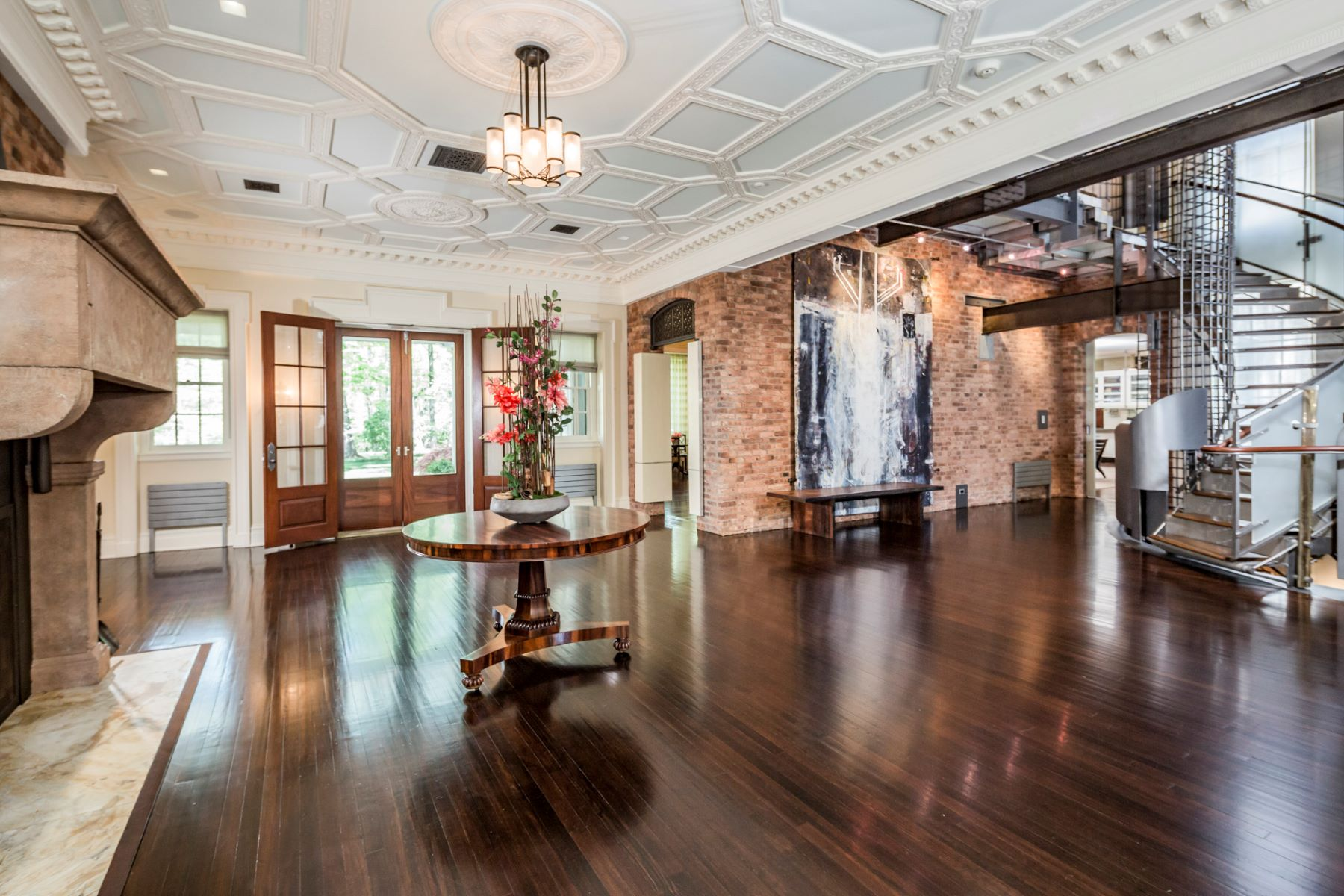 Single Family Homes 용 매매 에 Historic Pyne Mansion 211 Winant Road, Princeton, 뉴저지 08540 미국