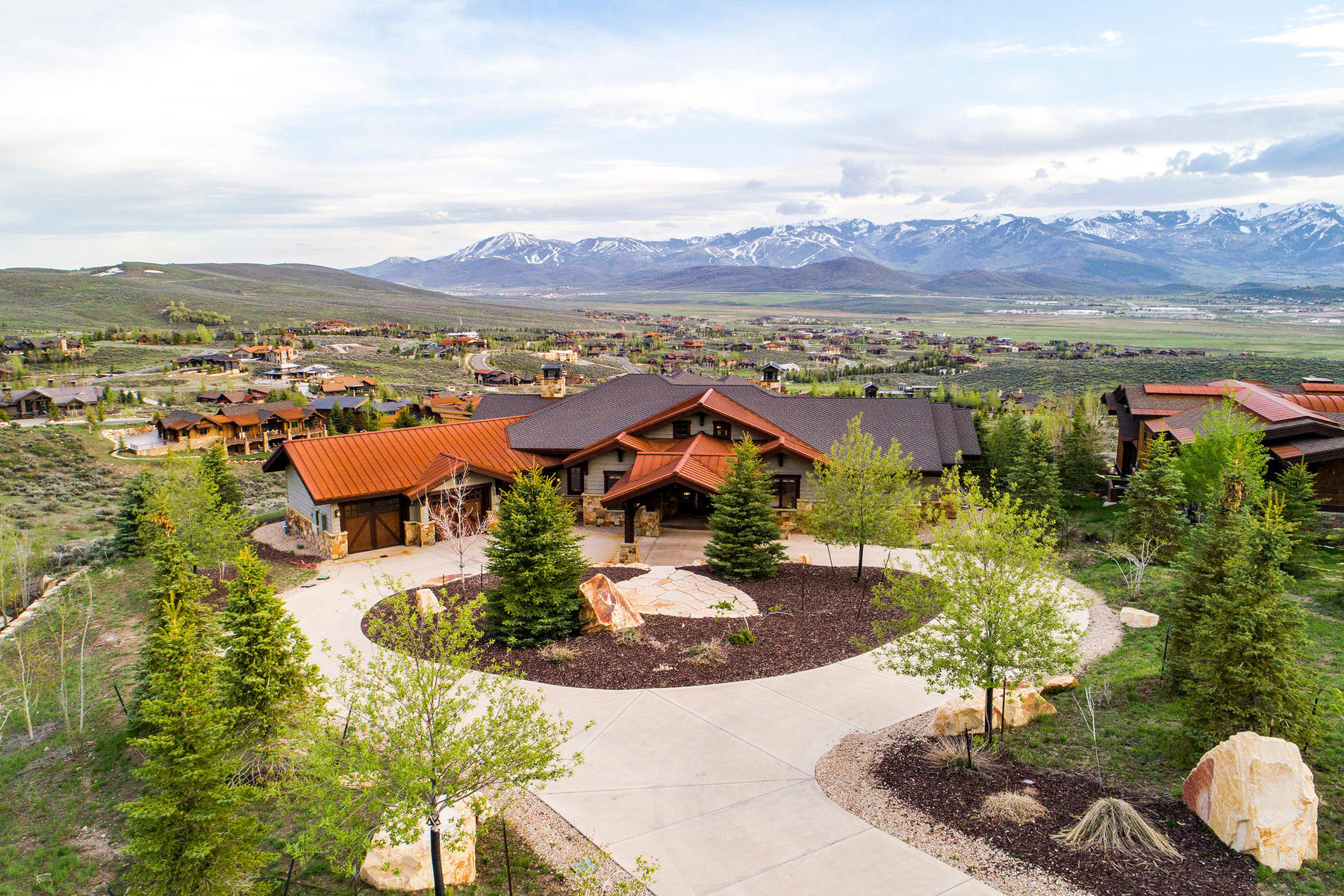 一戸建て のために 売買 アット Entertainer's Dream with Deer Valley Views 8156 N Ranch Club Trail, Park City, ユタ 84098 アメリカ