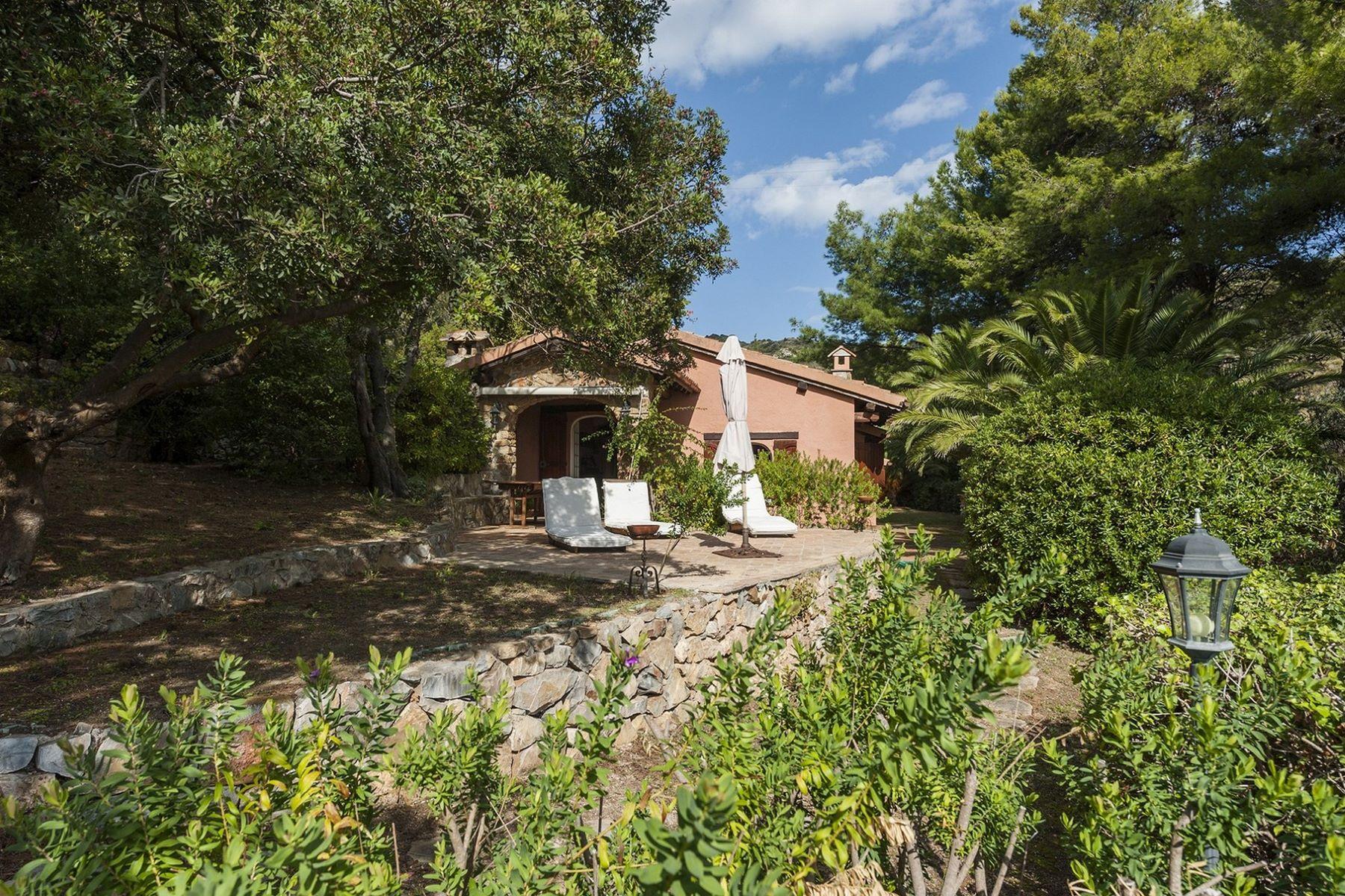 Single Family Home for Sale at Charming Villa near the sea of Monte Argentario Località Cannelle Porto Santo Stefano, Grosseto 58019 Italy