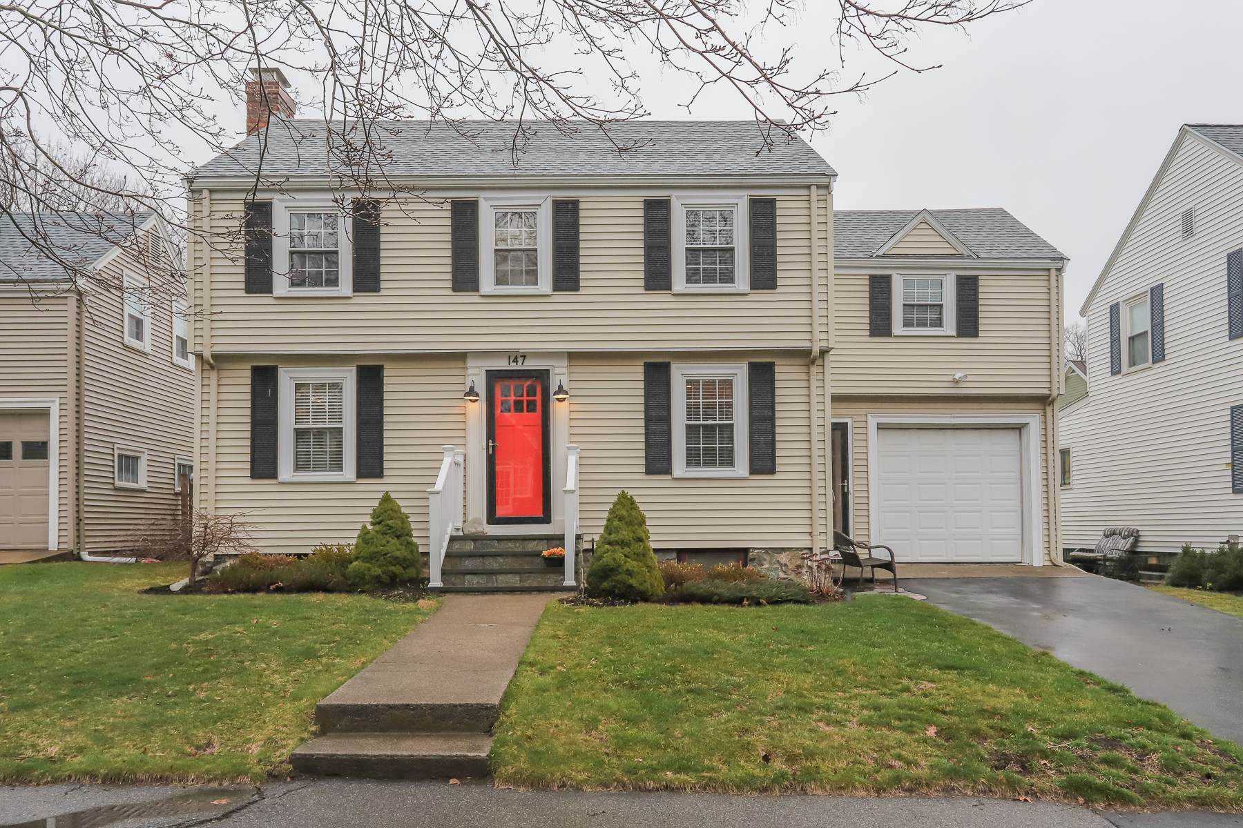 Single Family Home for Active at Traditional center hall colonial 147 Aspen Road Swampscott, Massachusetts 01907 United States